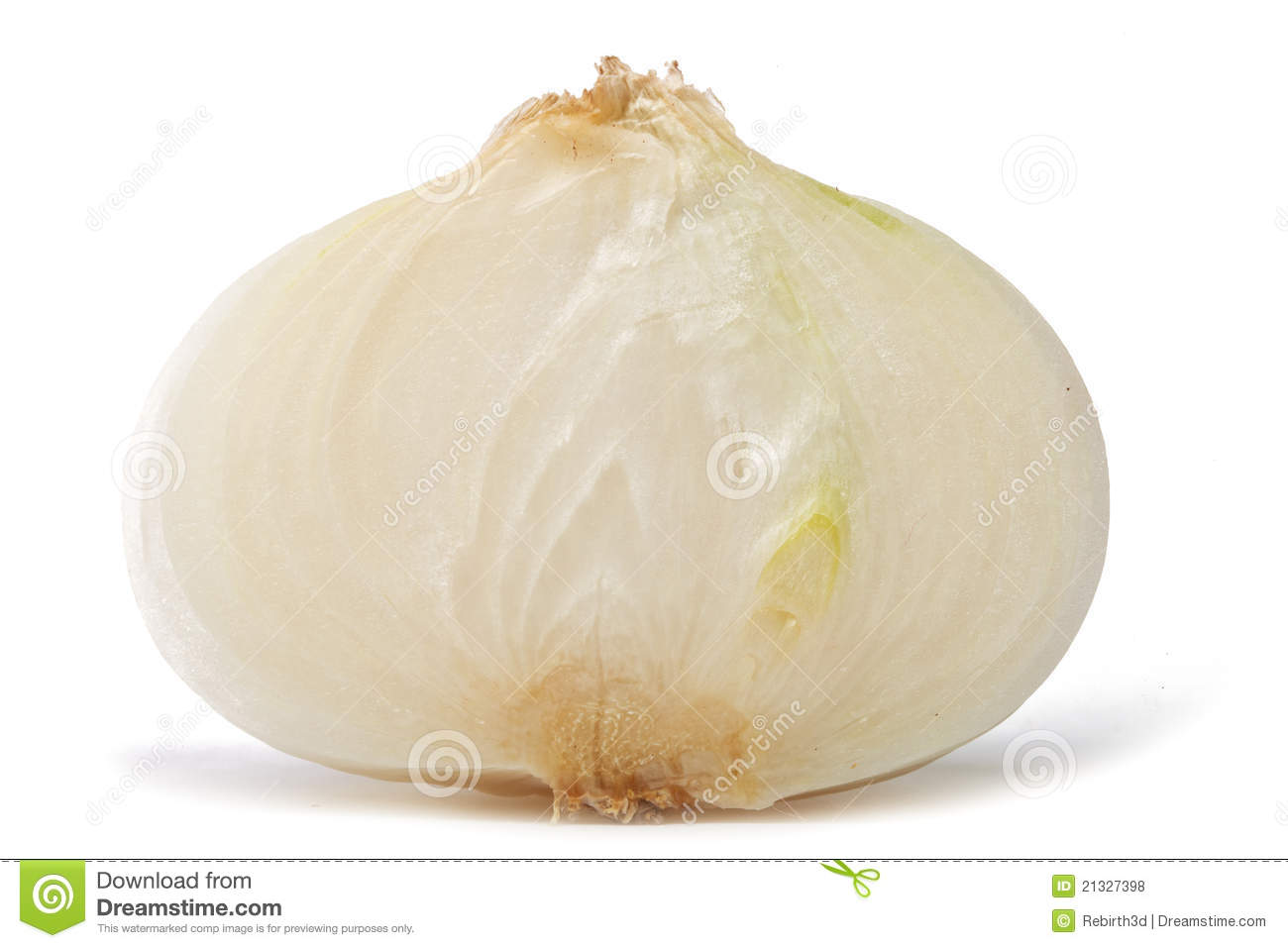 Sliced White Onion Royalty Free Stock Photos - Image: 21327398