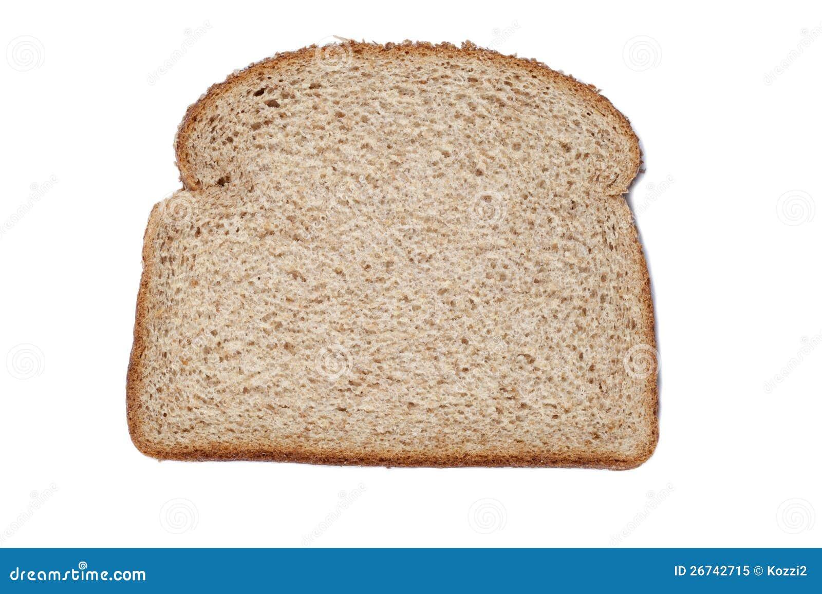 Animated bread slice