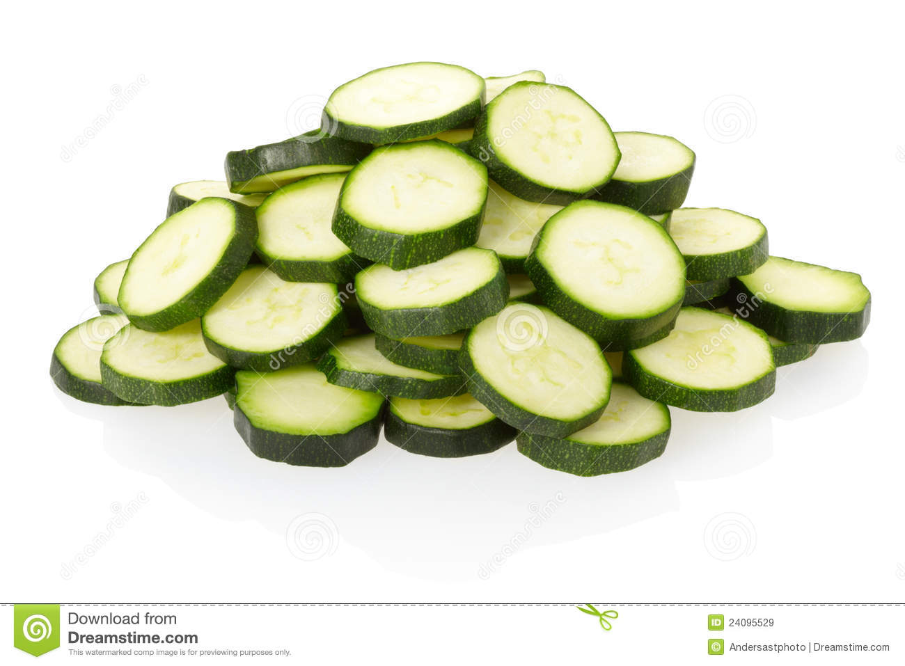 Sliced Zucchini Pile Royalty Free Stock Images - Image ...