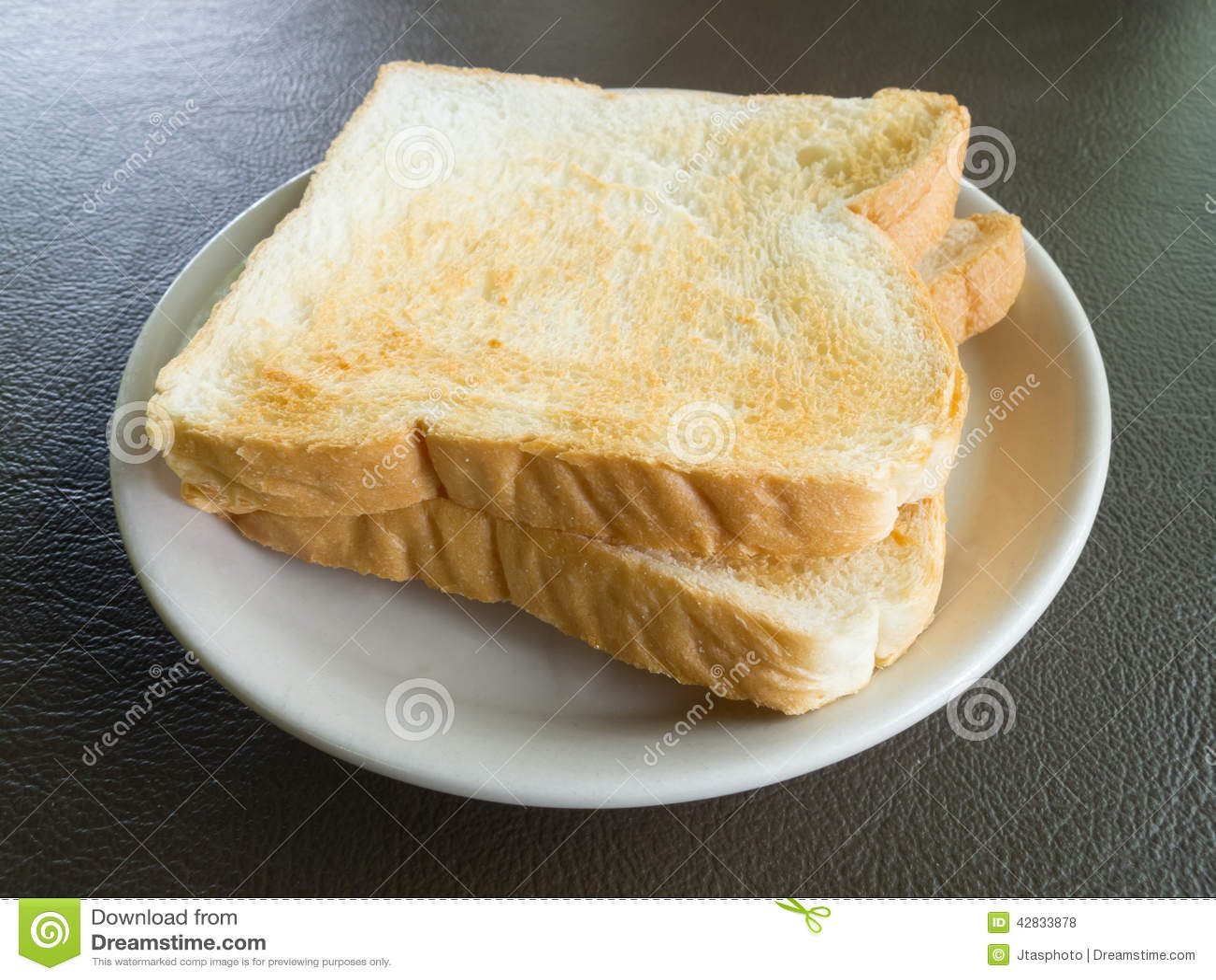 Slices Of Bread Stock Photo - Image: 42833878