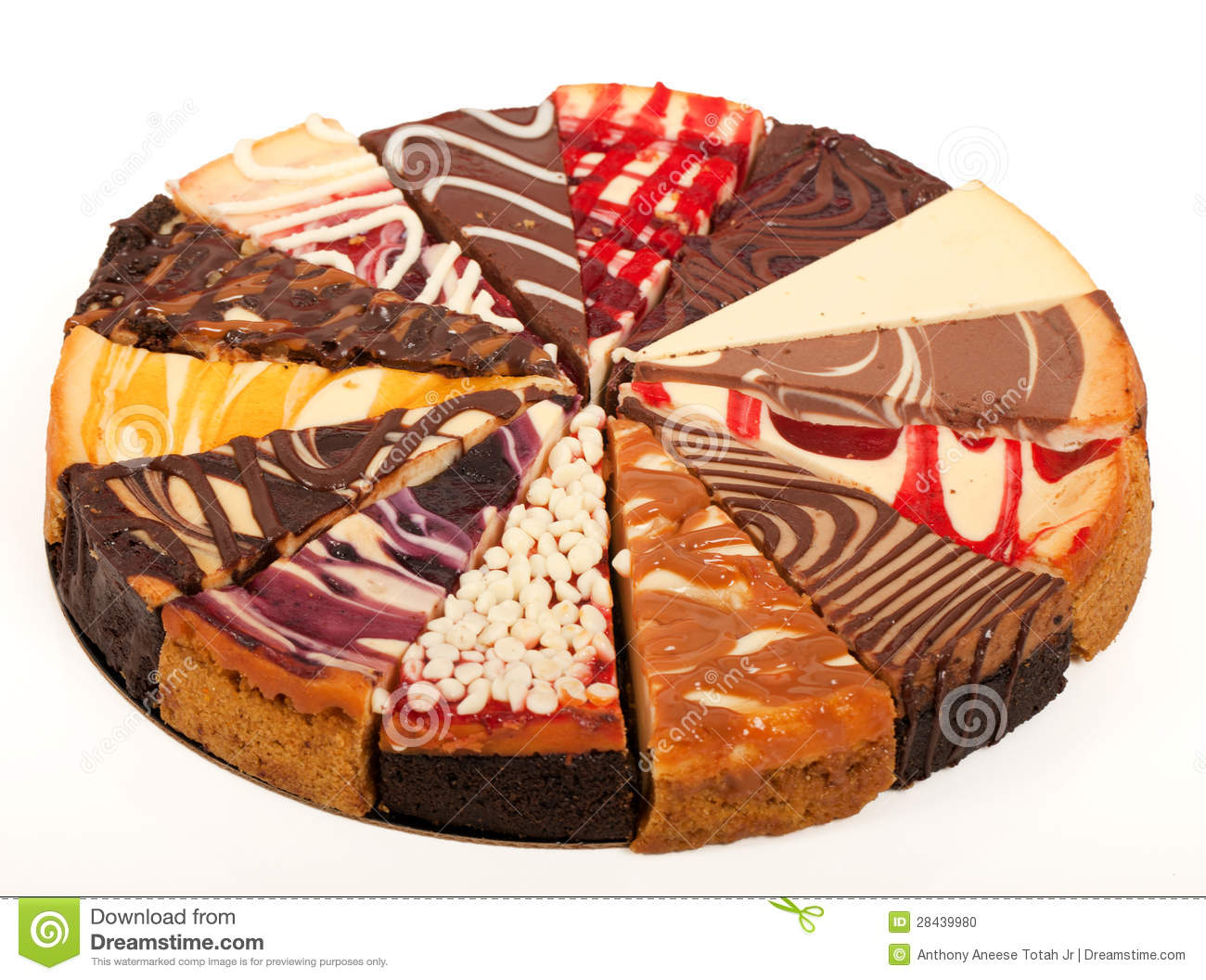 Different Kinds Of Chocolate Cake