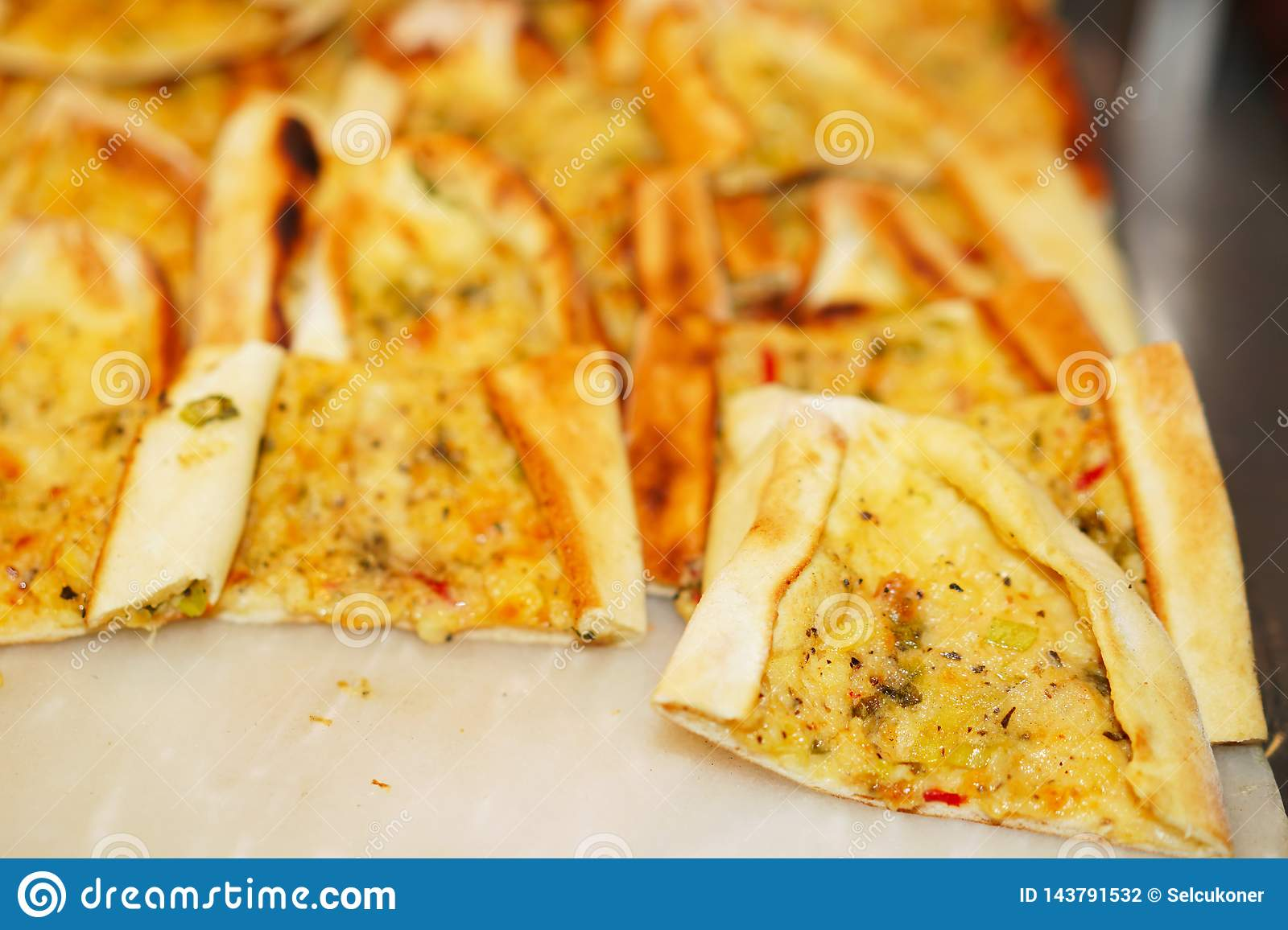 Delicious Turkish pide