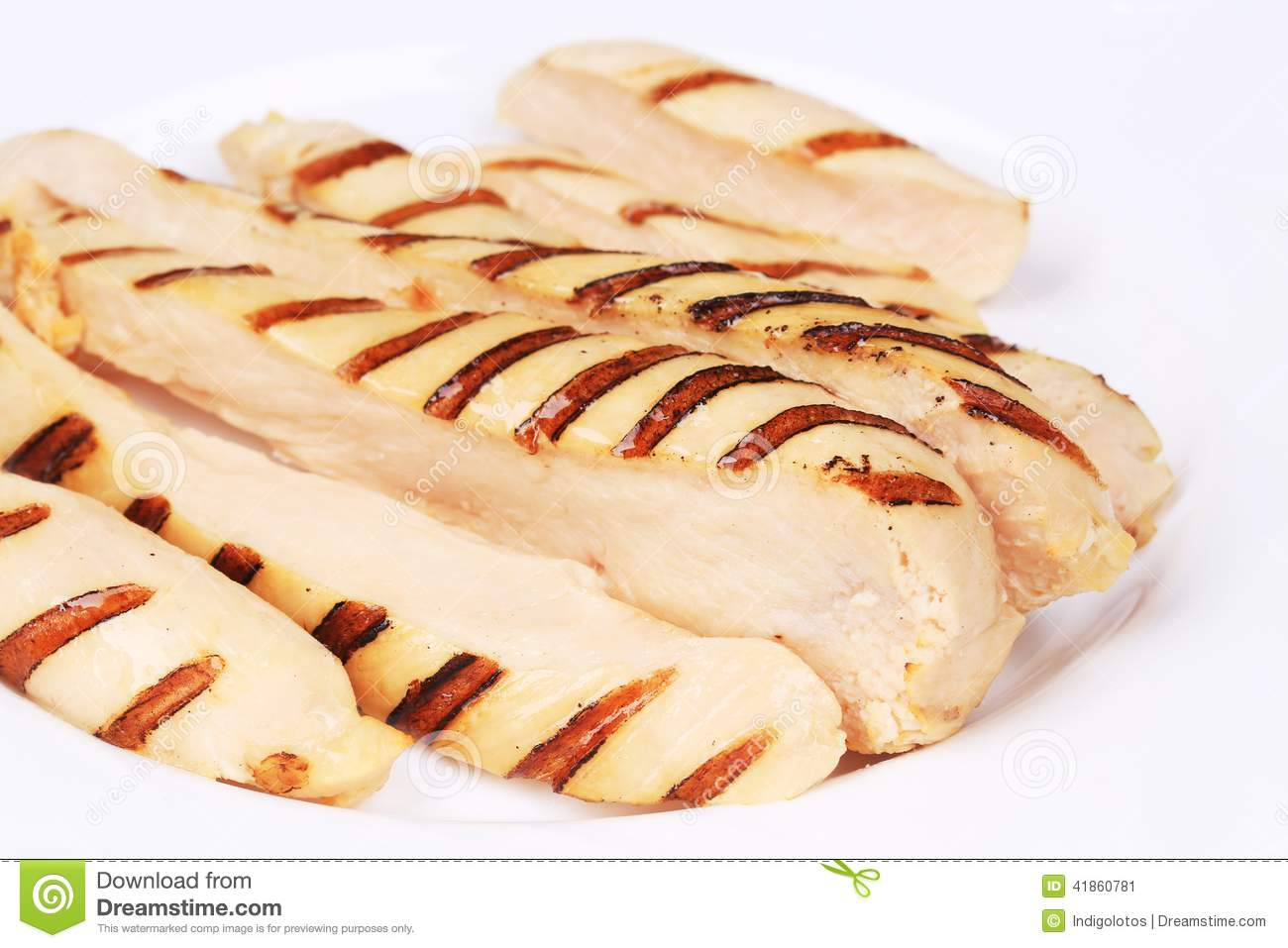 how to cut cooked chicken breast