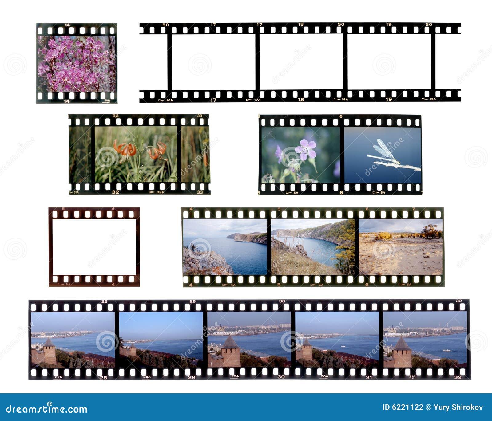 slide film frames stock photography image 6221122