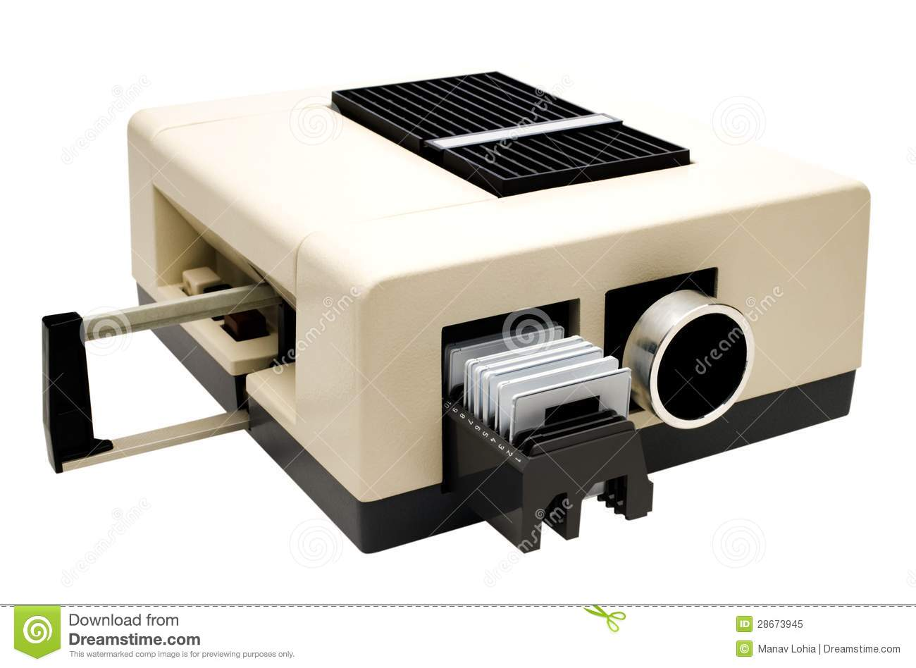 Slide Projector Royalty Free Stock Photo - Image: 28673945
