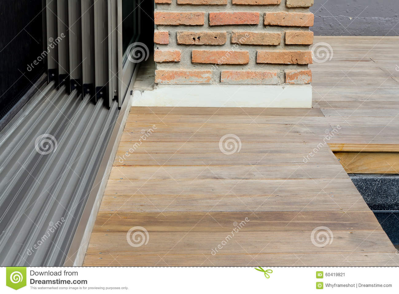 Sliding Glass Door Detail Stock Image Image Of Objects 60419821