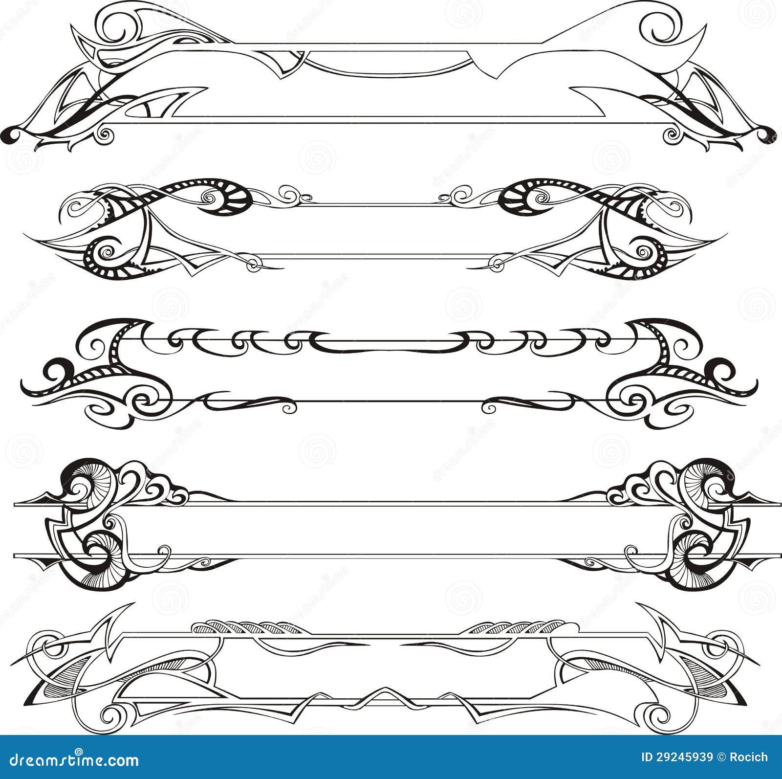 slim decorative frames - Decorative Frames