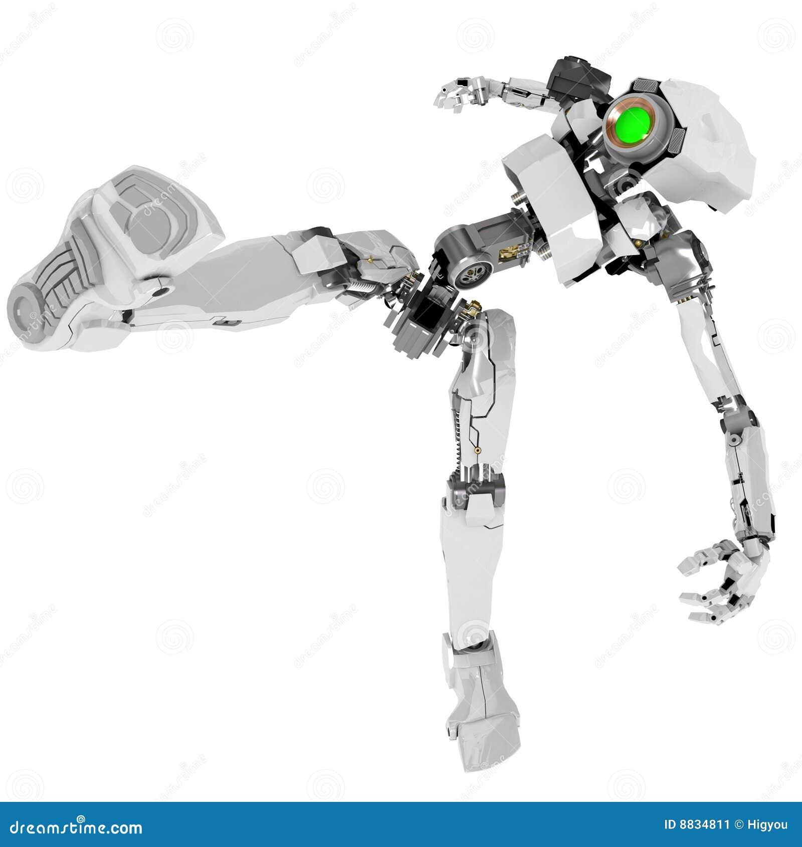 pied de robot
