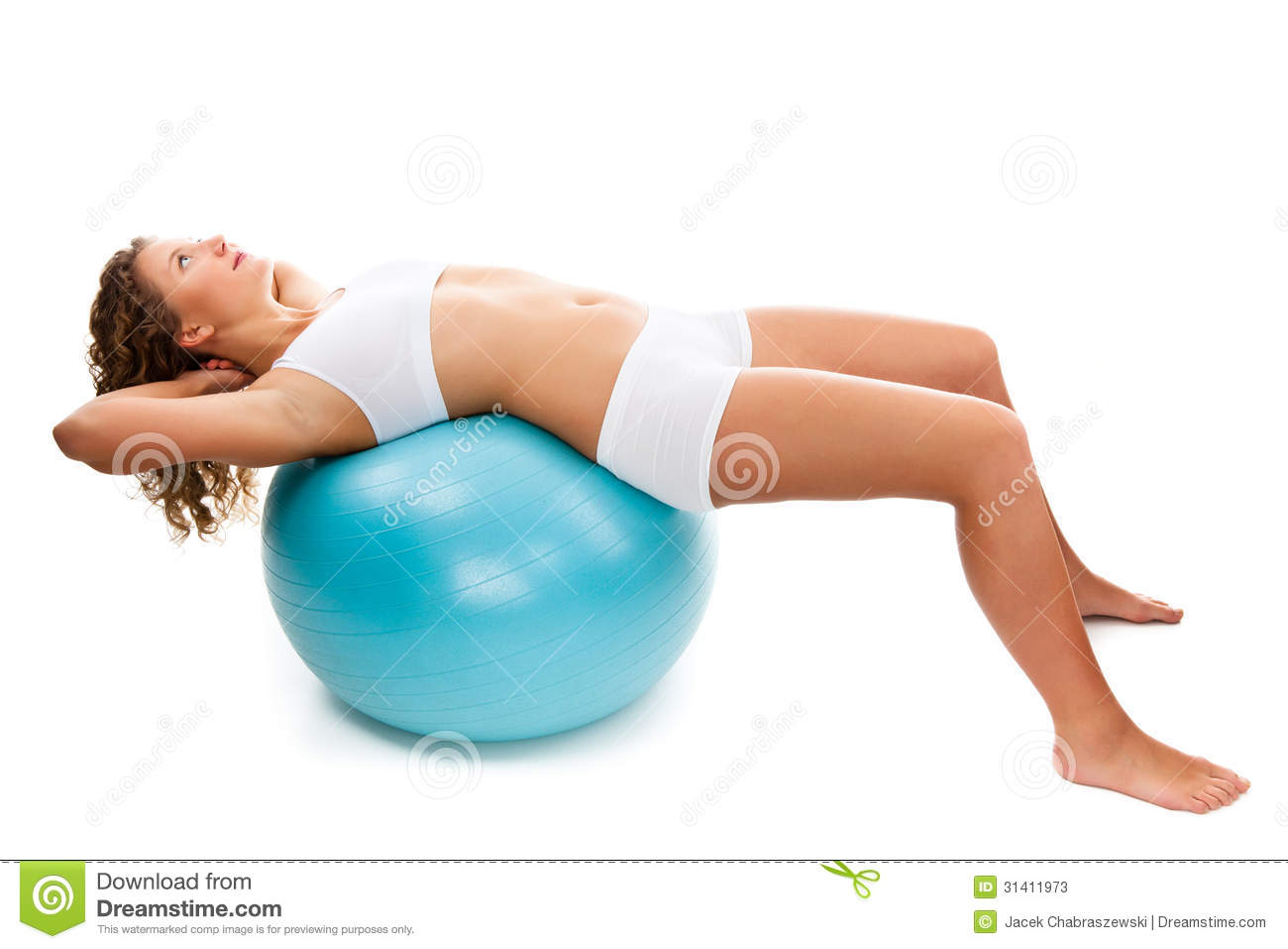 Slim woman stock image. Image of 25, fitness, caucasian ...