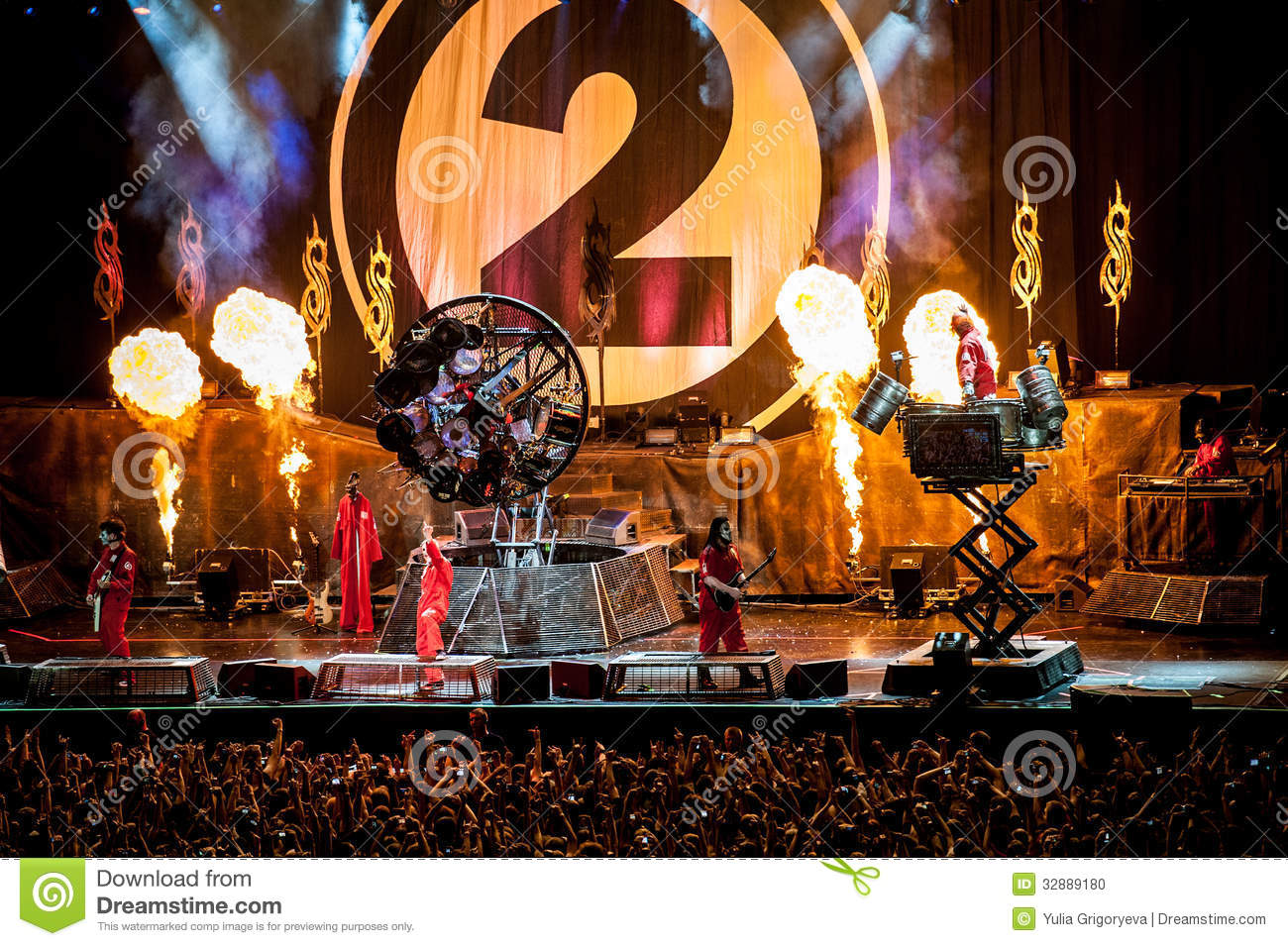Slipknot Concert Editorial Stock Photo - Image: 32889483