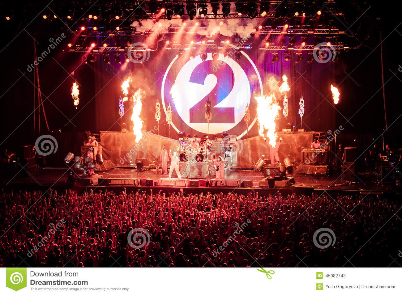 Slipknot Concert Editorial Stock Photo - Image: 45082743