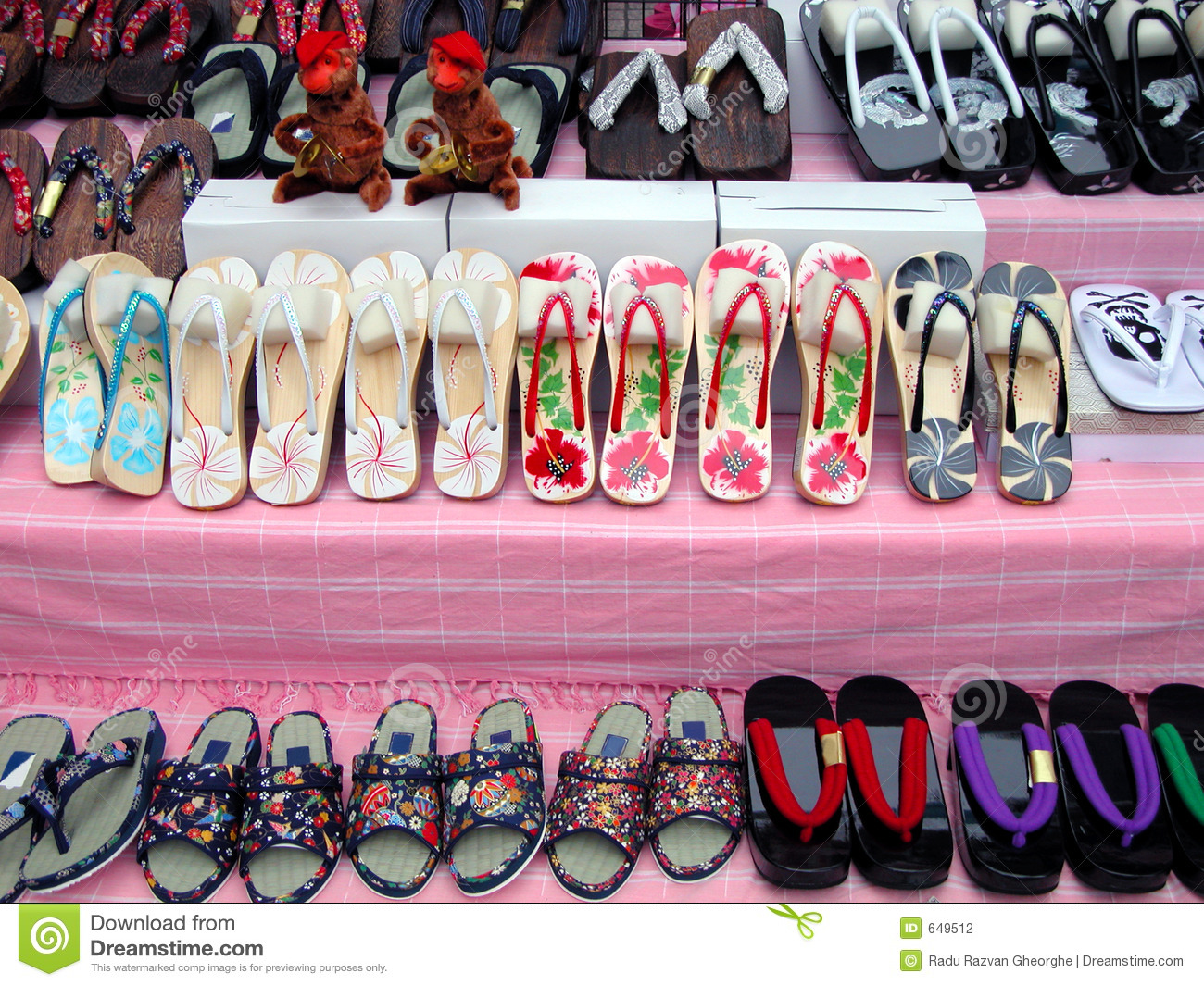 Slipper Stand Designs : Slippers stand stock photography image