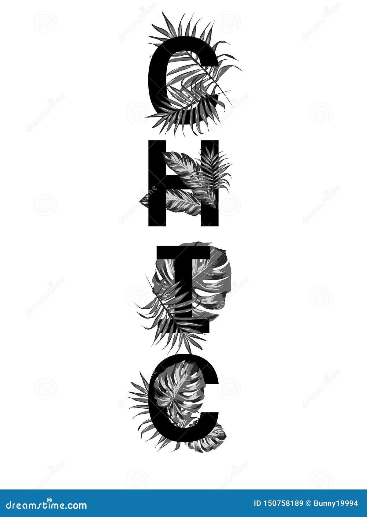 Slogan chic noir et blanc Perfectionnez pour des affiches, art de mur, sac d emballage, copie de T-shirt, autocollant, carte post
