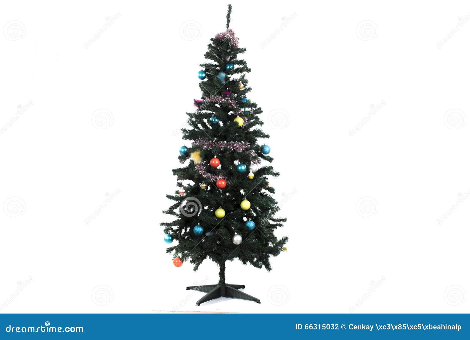 Ugly Christmas Tree.Sloppy Ugly Christmas Tree Stock Photo Image Of