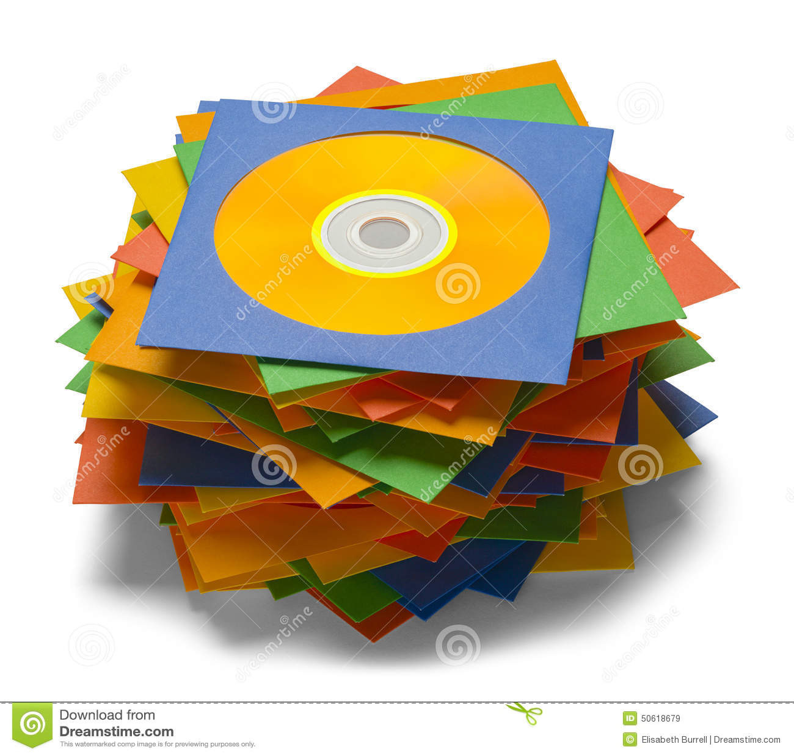 Slordige CD Stapel