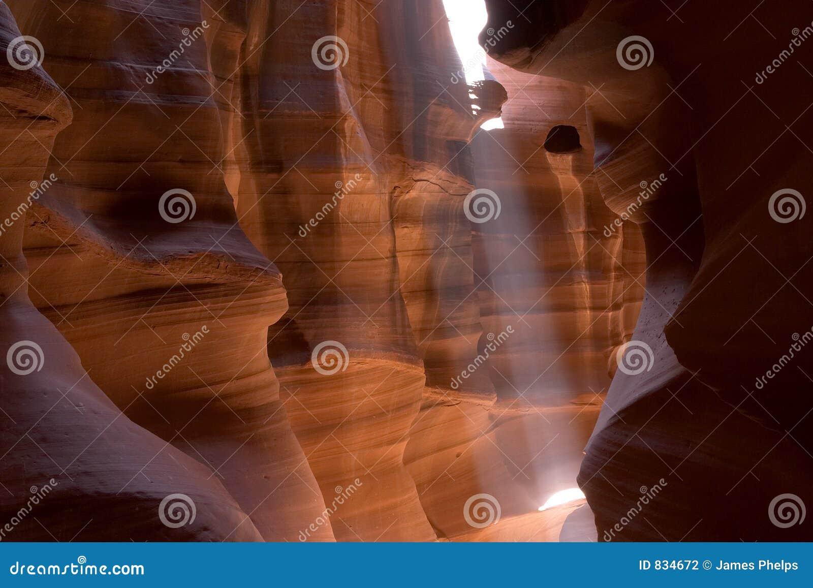 Slot Canyon Sunbeam