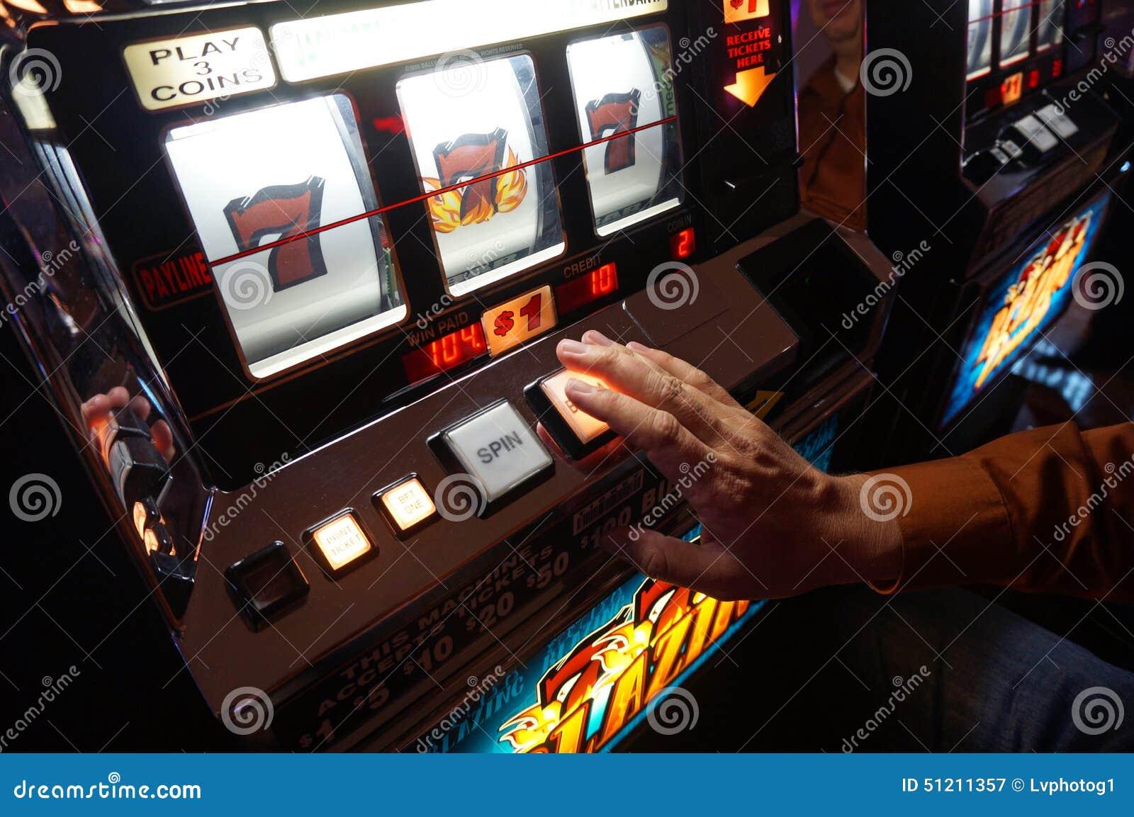 Slot machine de Las Vegas