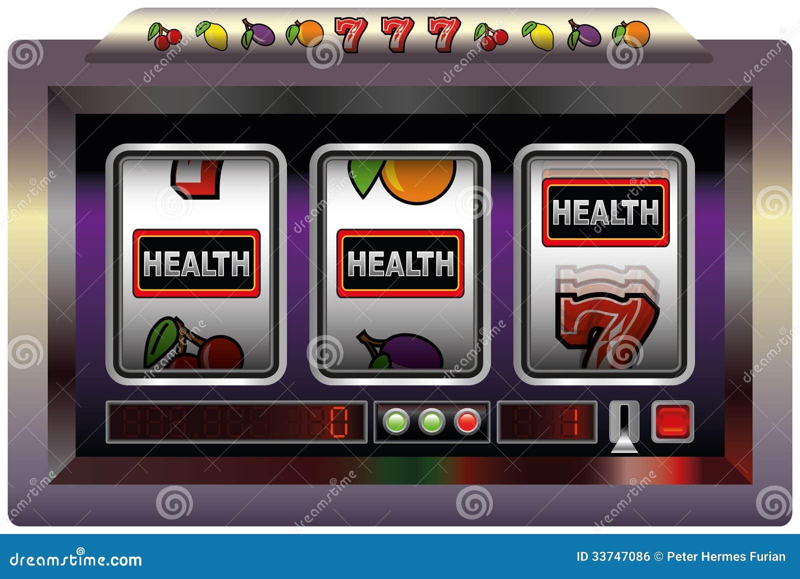 Slot machine background