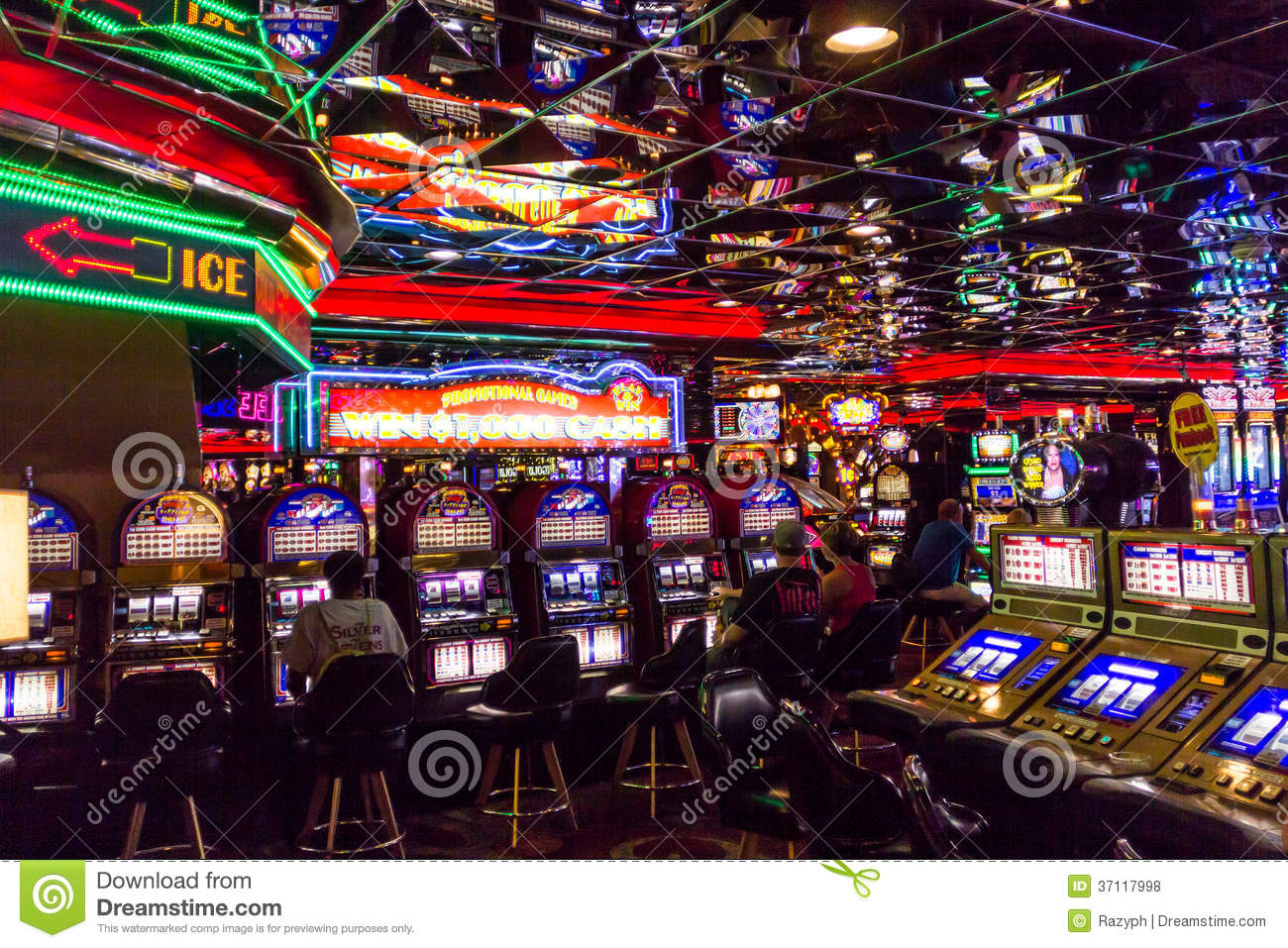 casino games in vegas