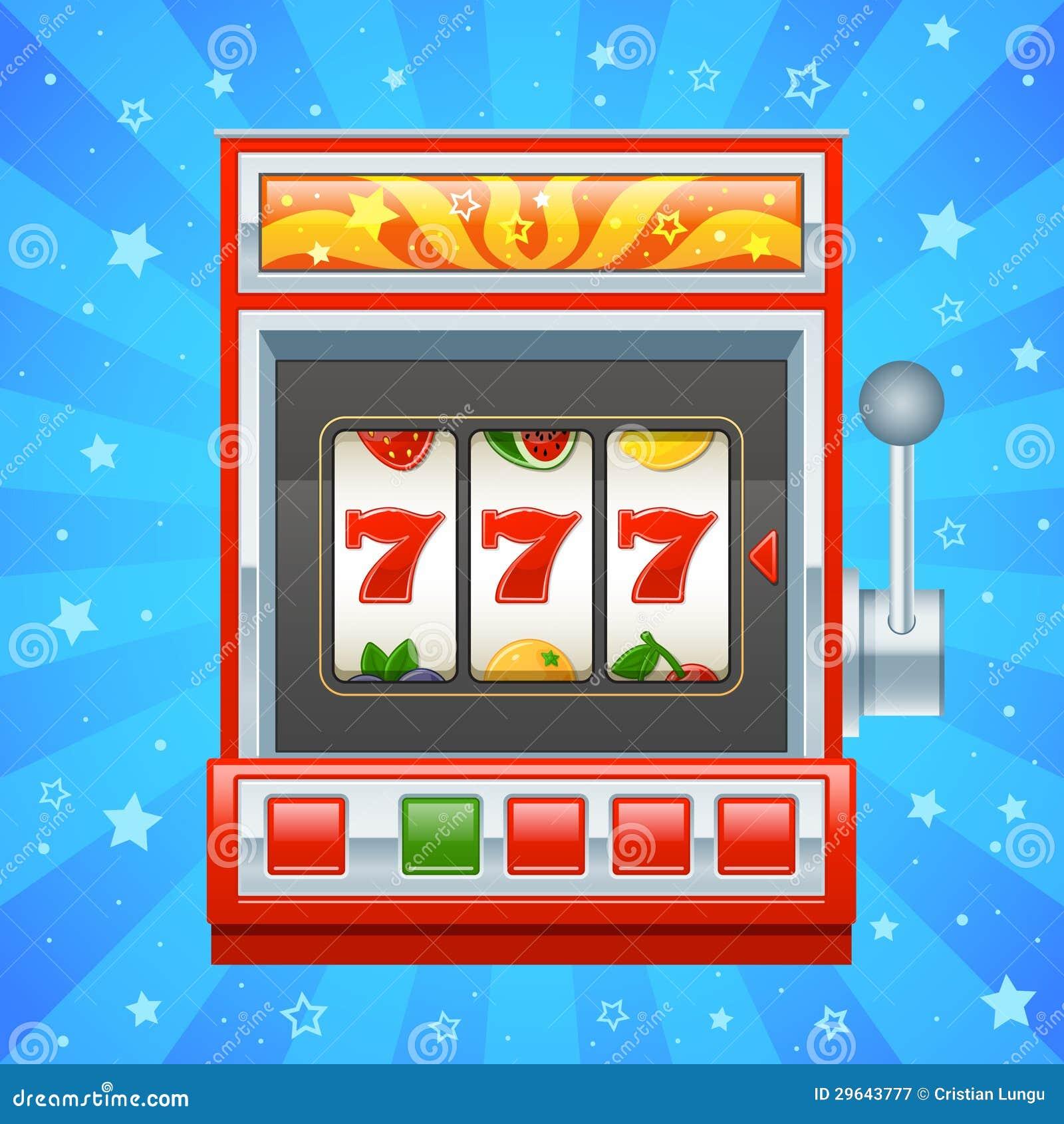 Slot Machine Vettoriale Gratis
