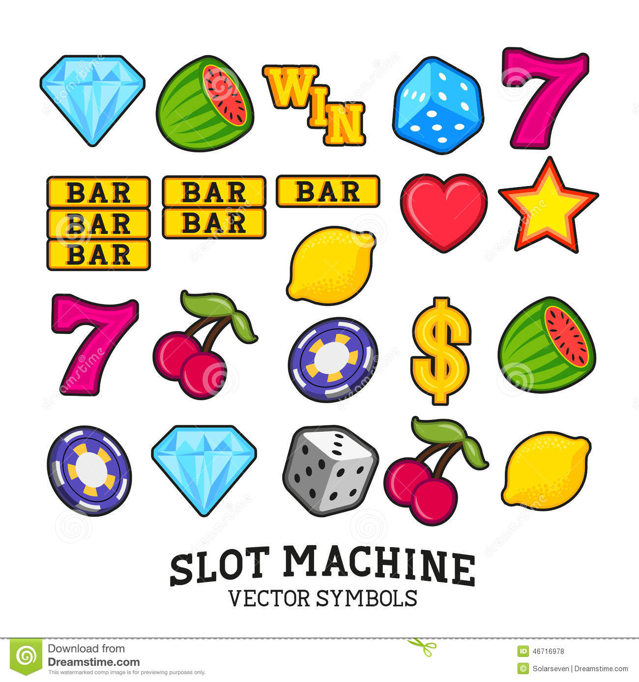 Free Slot Machine Symbols