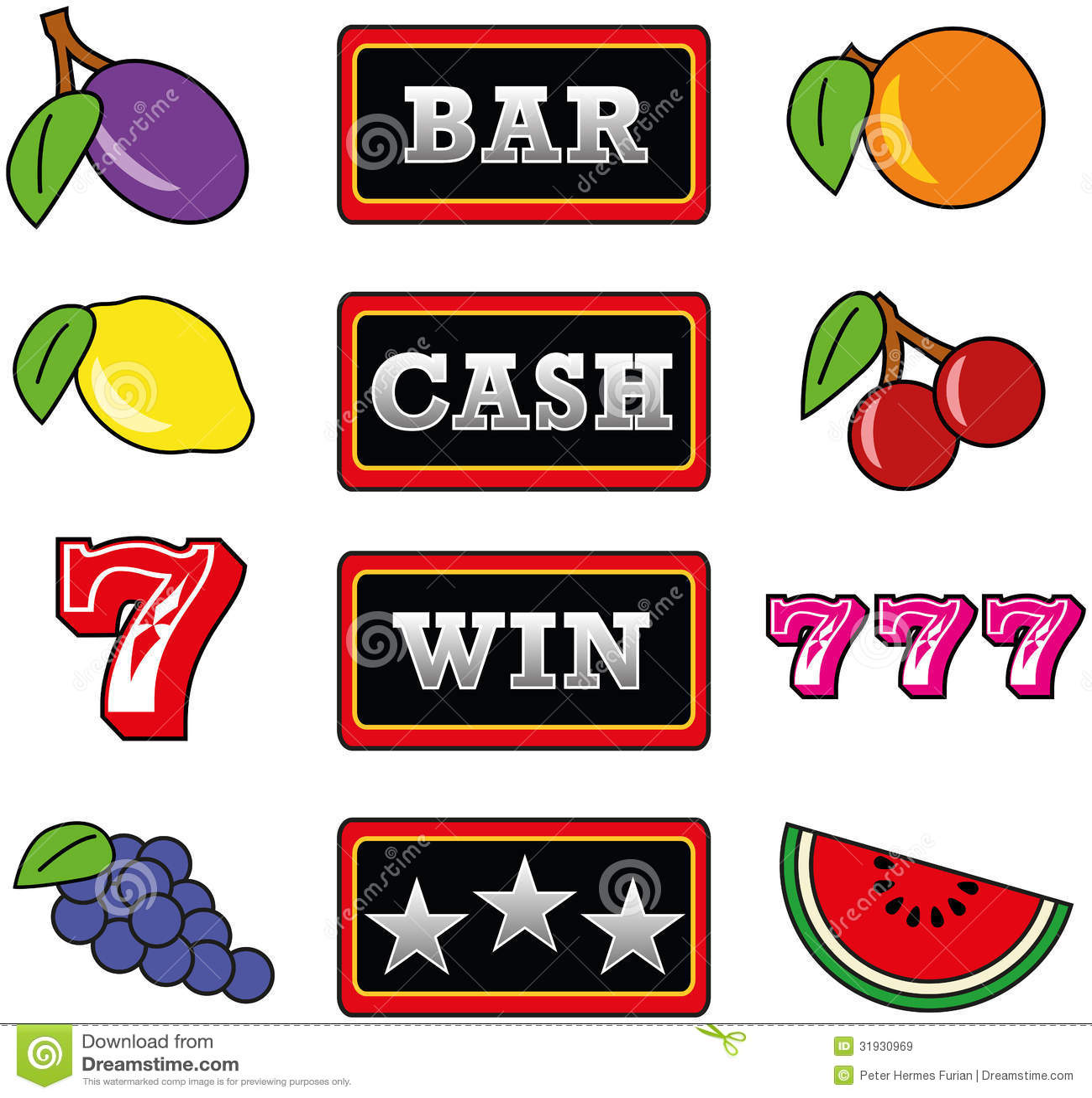 free slot machine bar
