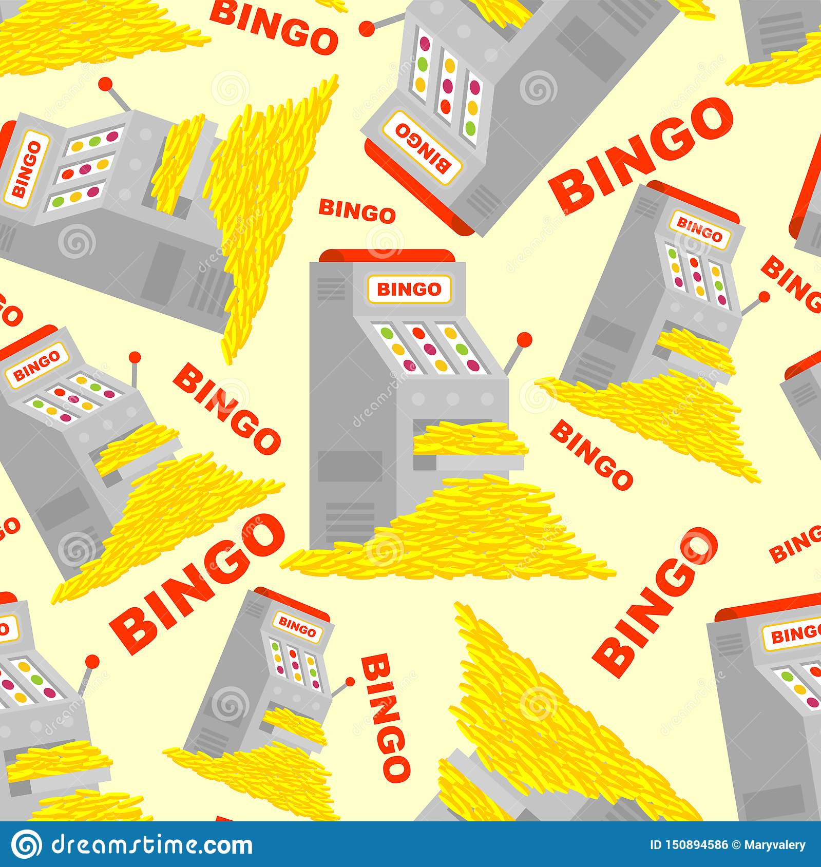 Slot Machine Bingo Patterns