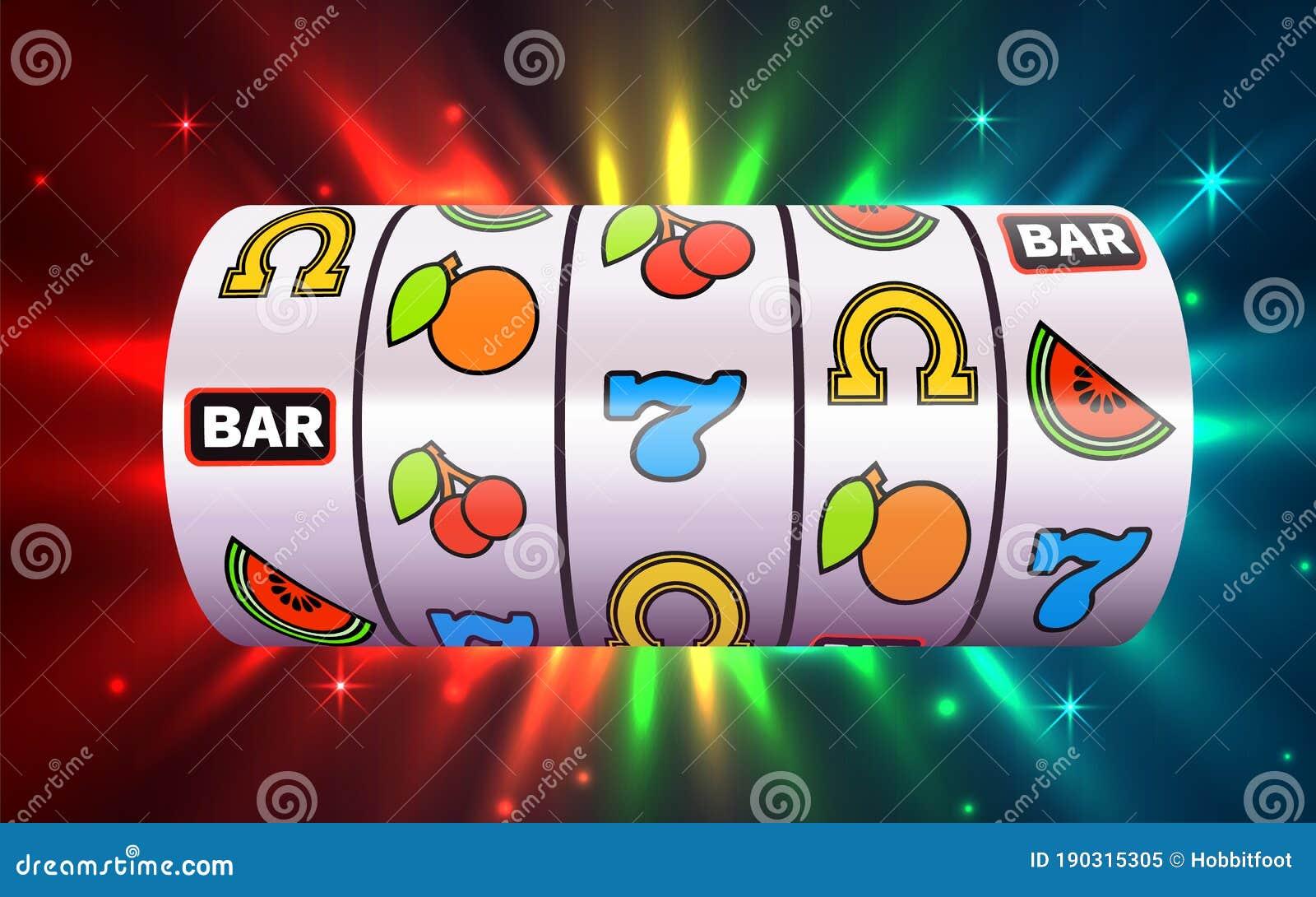 Slot Machine Wins The Jackpot. Online Casino Banner. 777 Casino Background  Stock Vector - Illustration of online, jackpot: 190315305