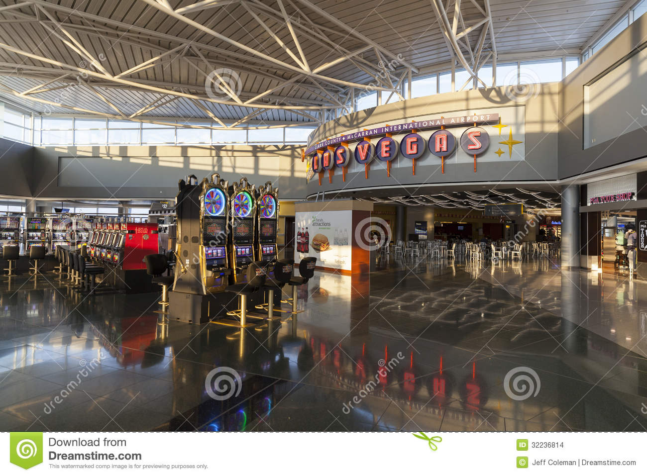 Slot machines in las vegas airport