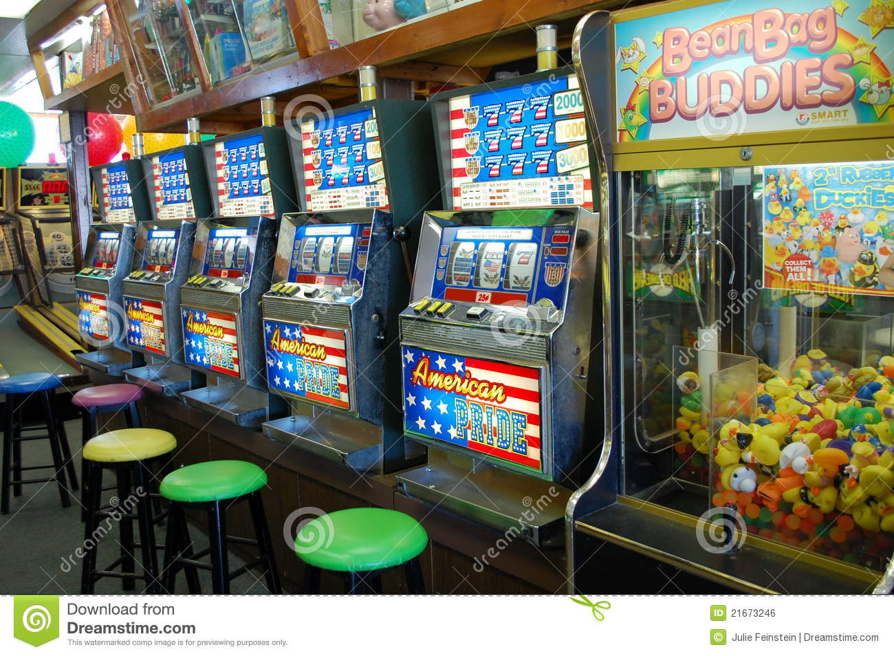 Slot Machines at the Jersey Shore