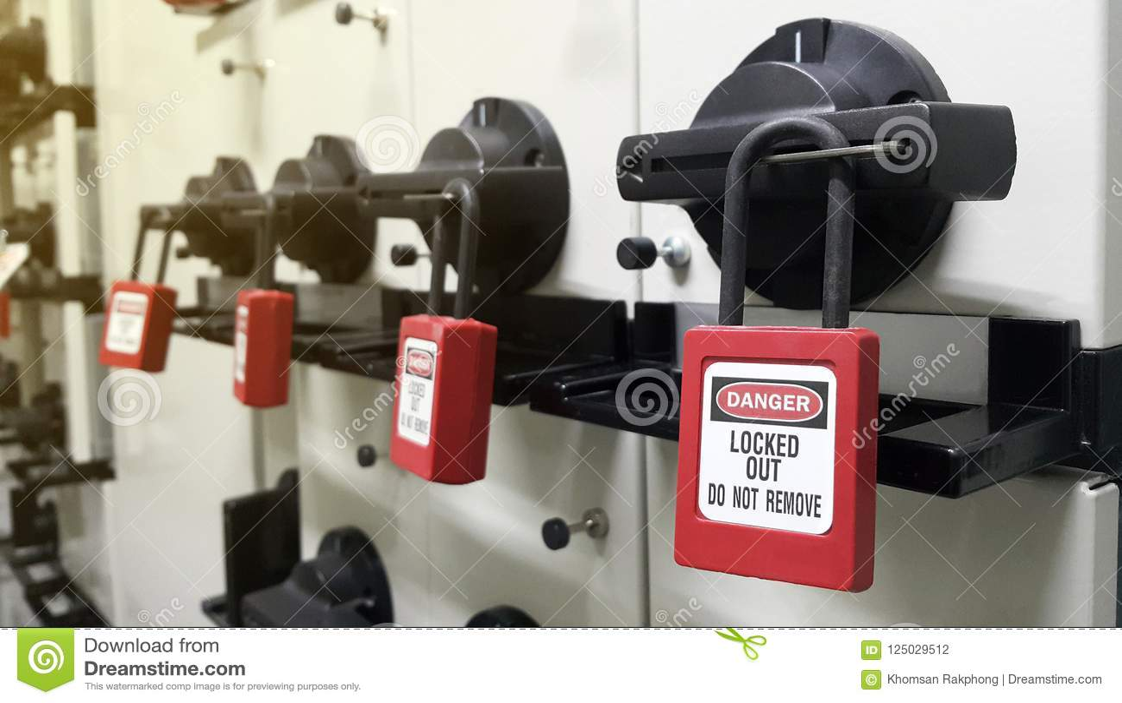Slot uit & Markering uit, Uitsluitingspost, machine - specifieke uitsluitingsapparaten