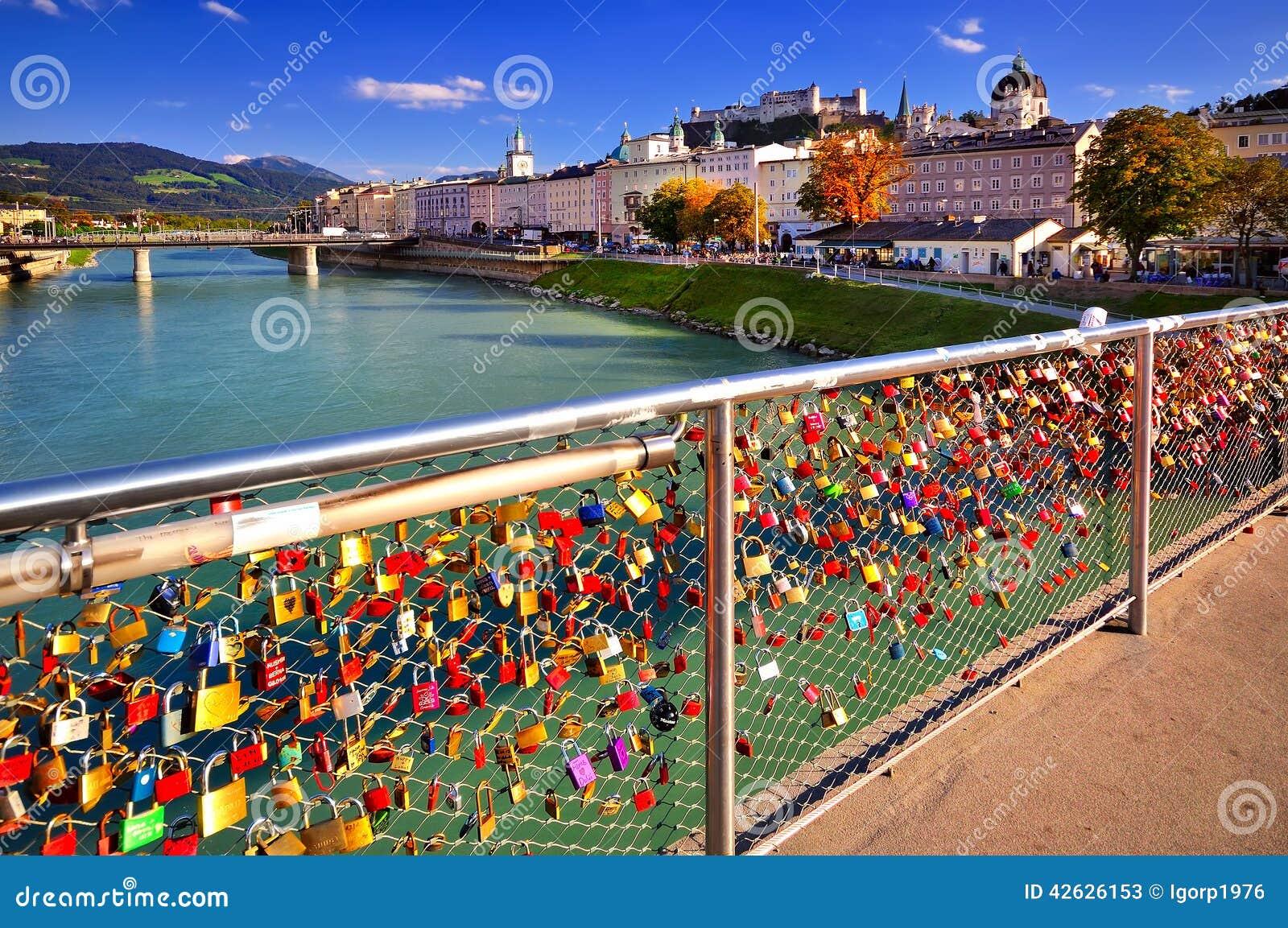Slot van liefde in Salzburg