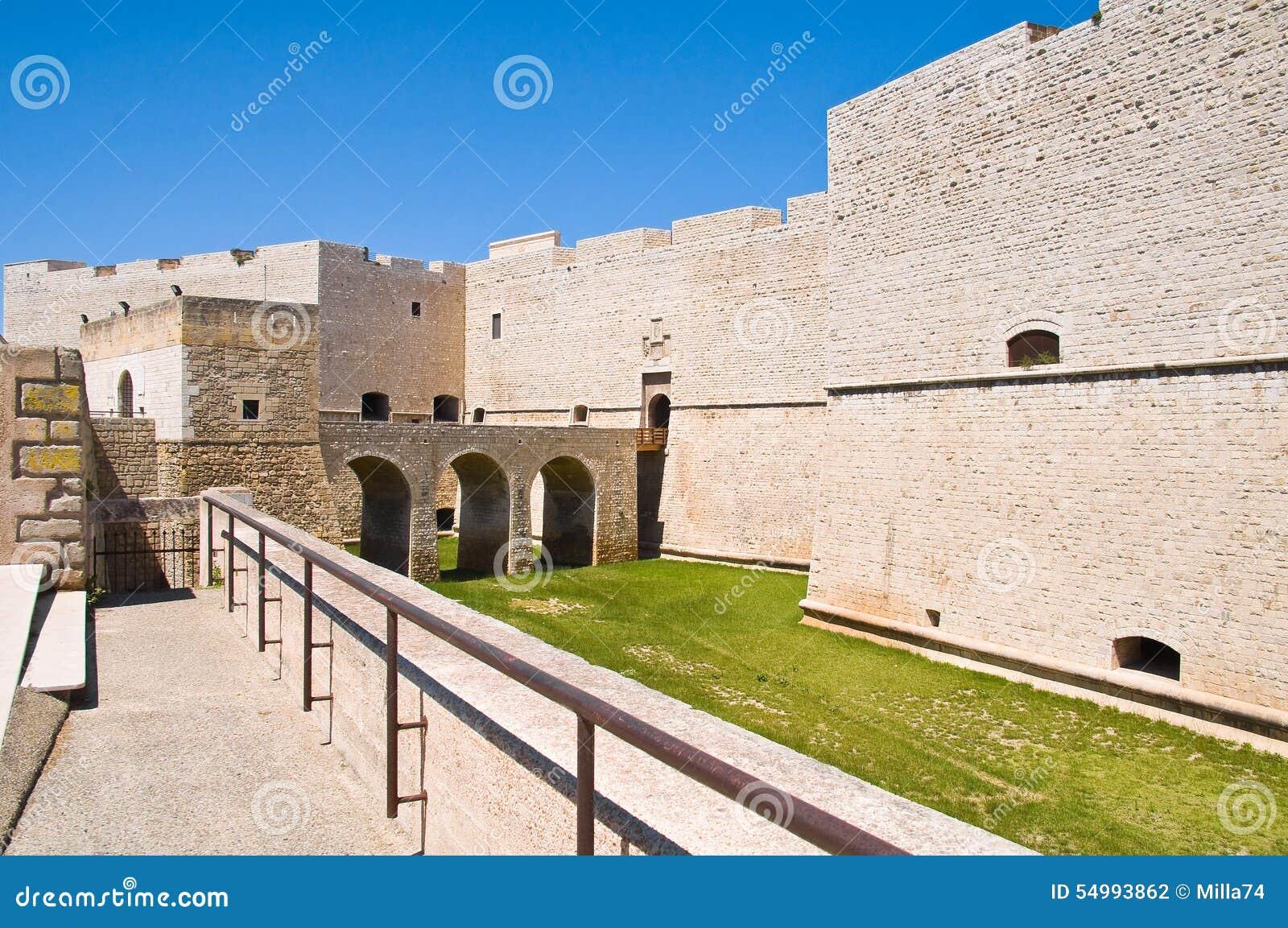 Slott av Barletta Puglia italy