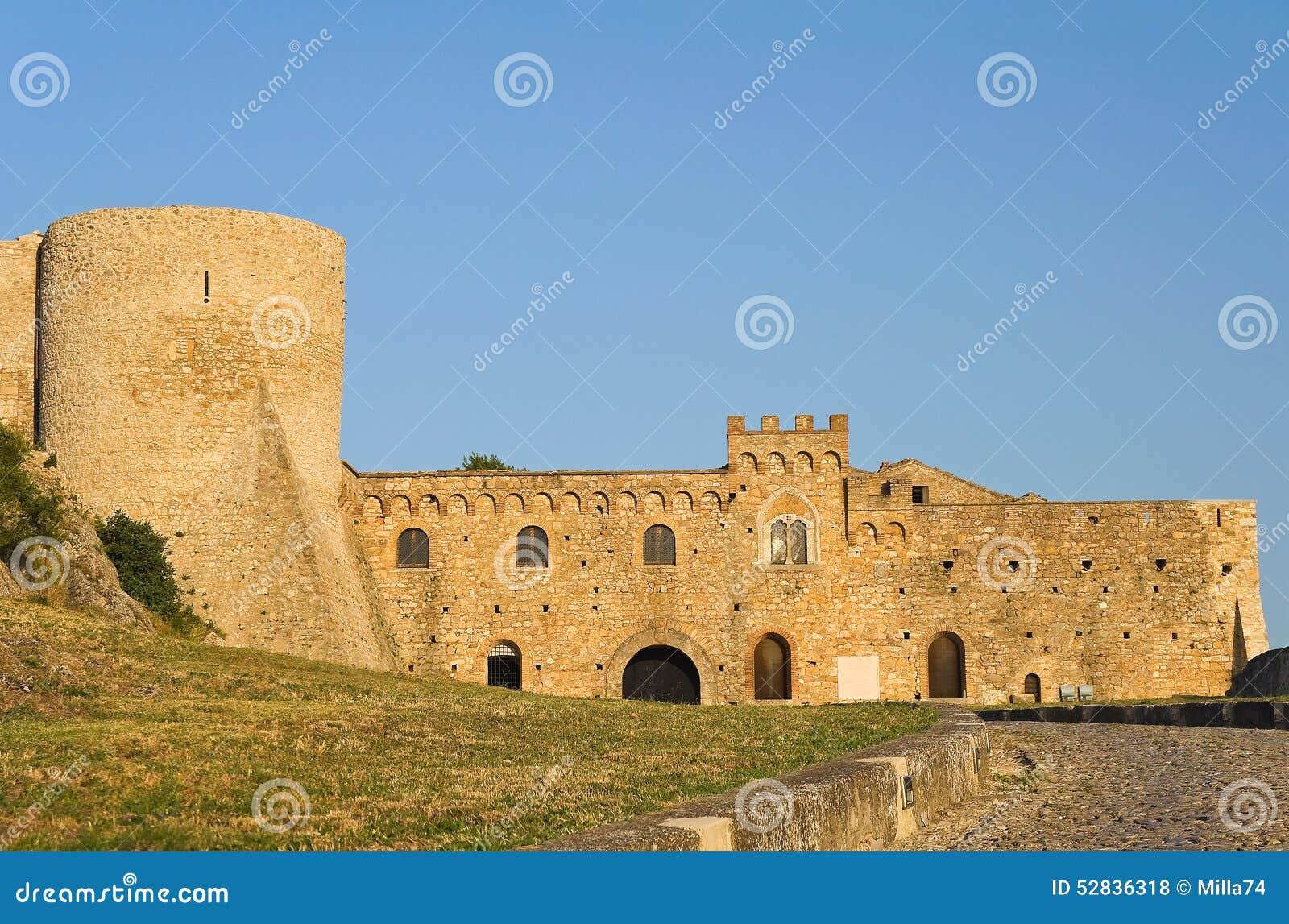 Slott av Bovino Puglia italy