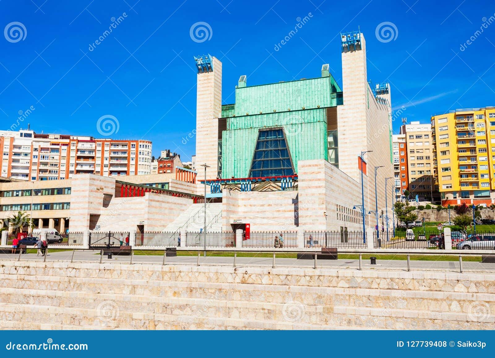 Slott av festivaler i Santander