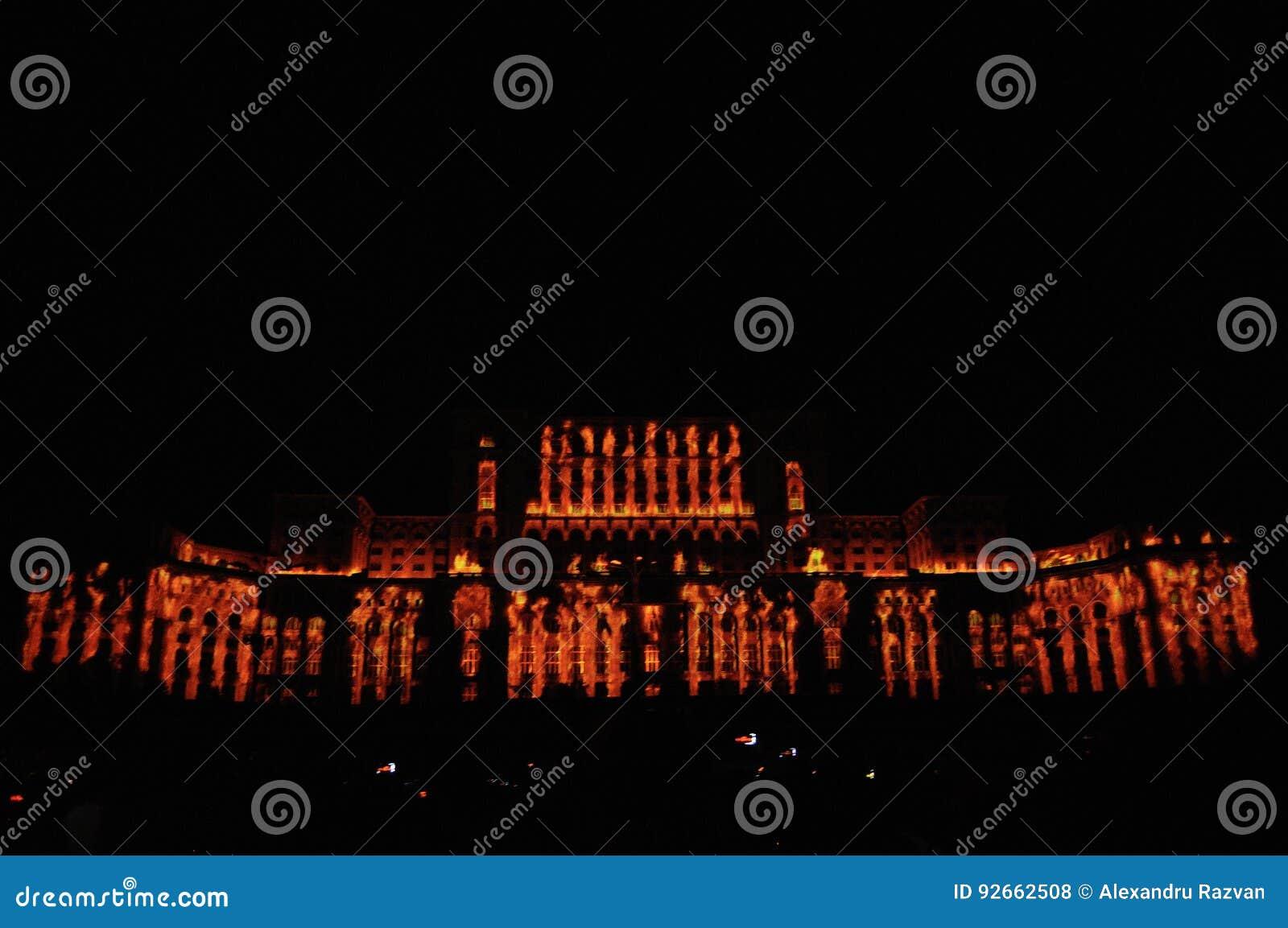 Slott av parlamentet Bucharest