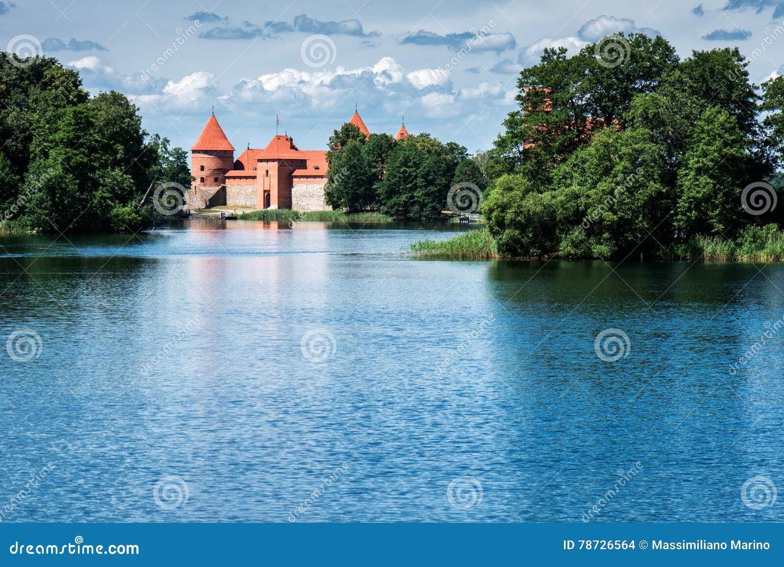 Slott av Trakai