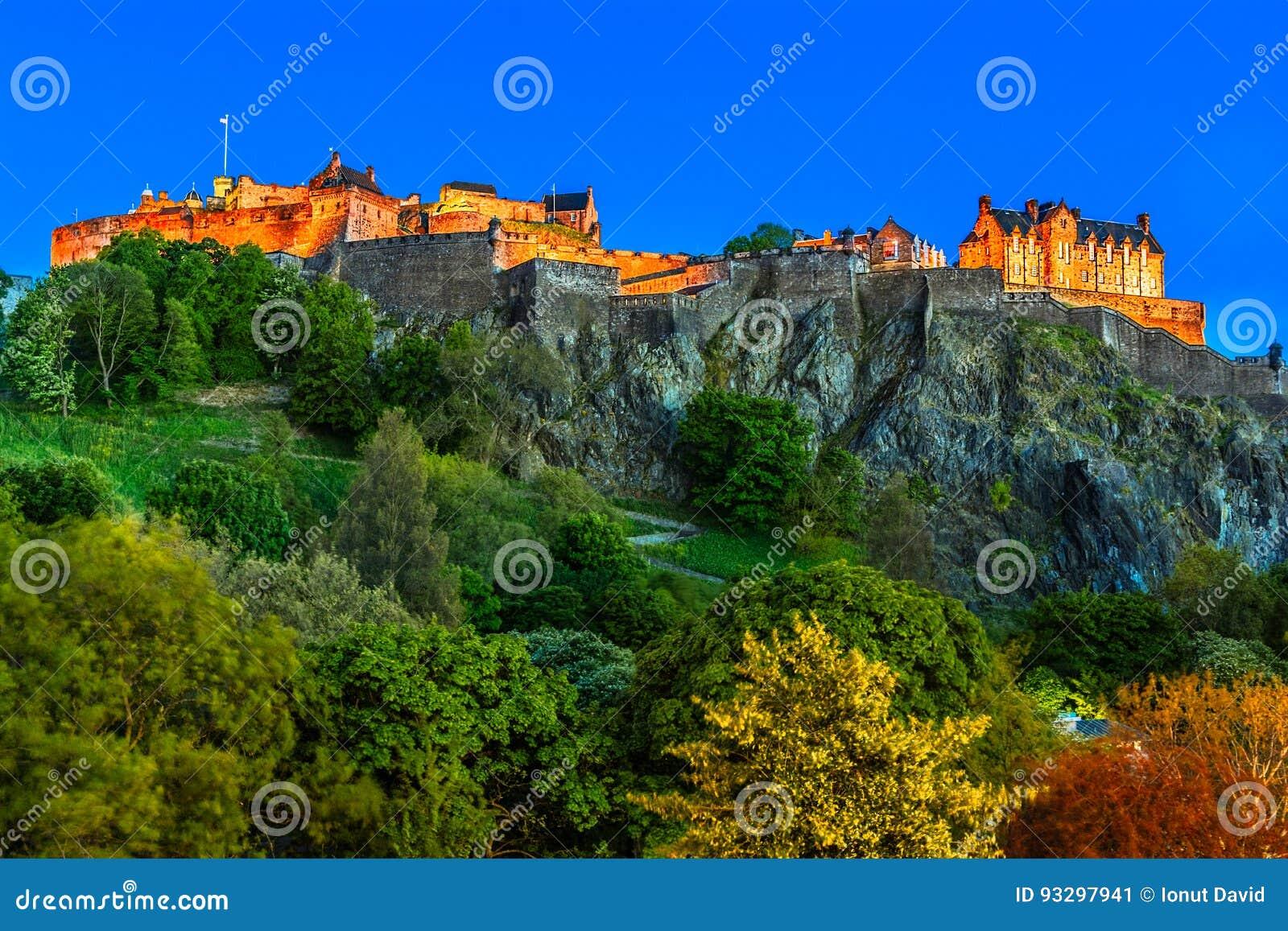 Slott edinburgh scotland