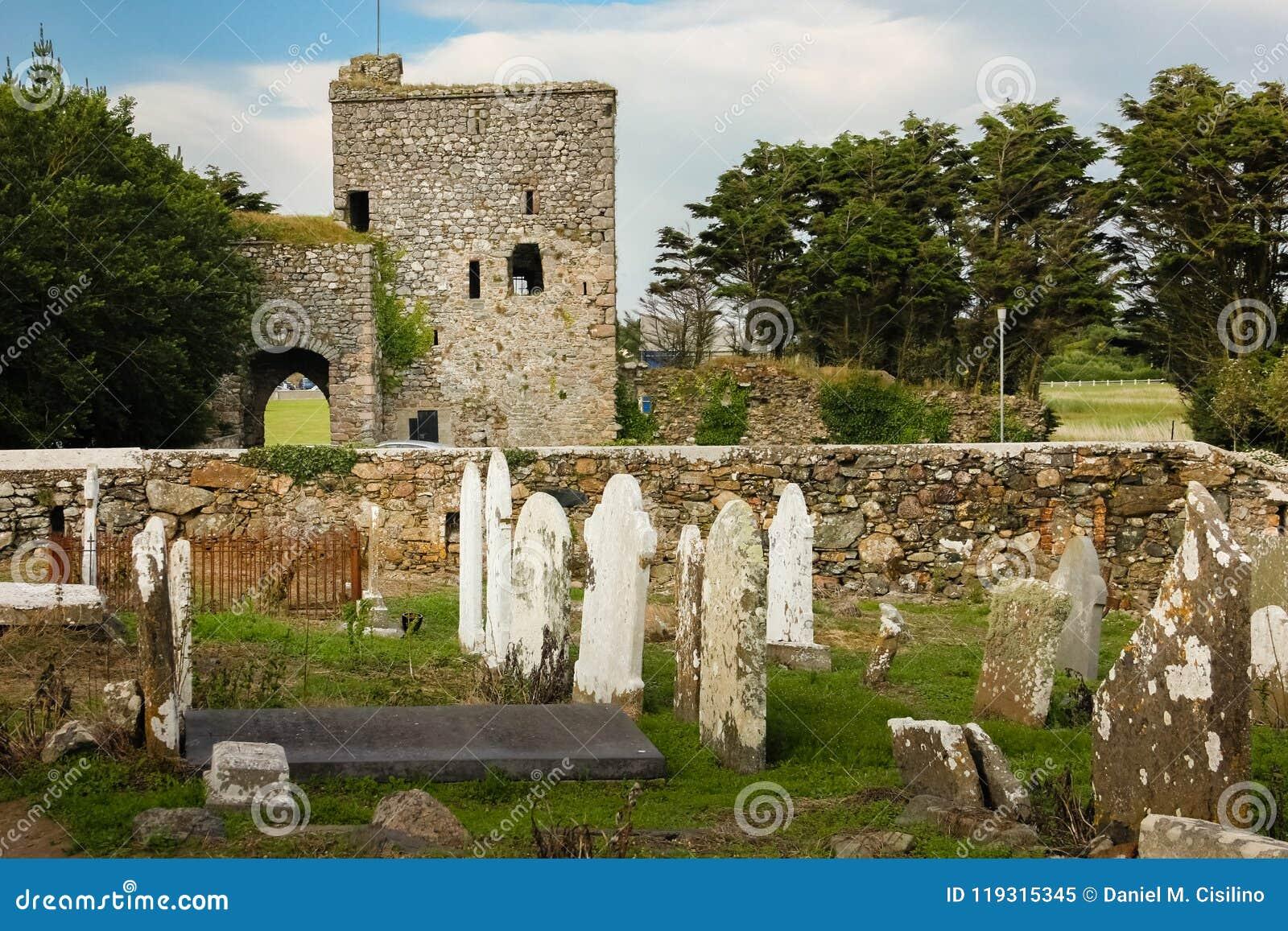 Slott för ö för dam` s ståndsmässiga Wexford ireland