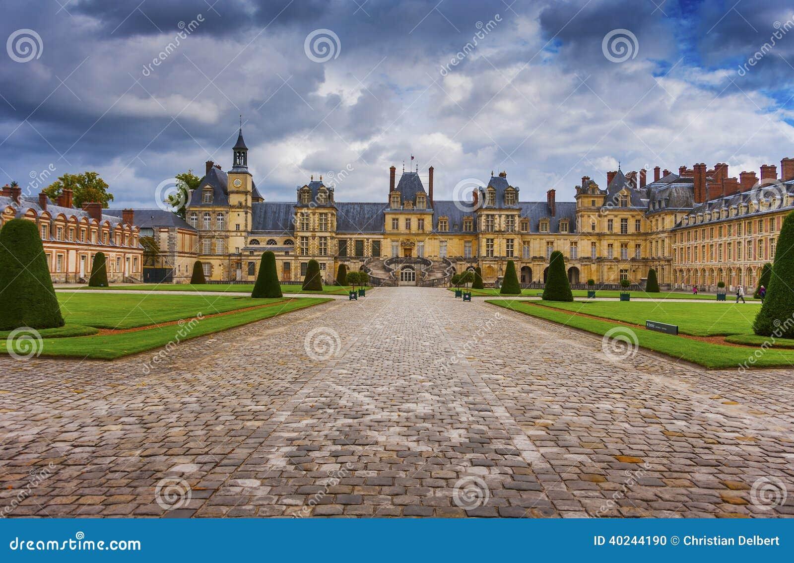 Slott Fontainebleau, Frankrike