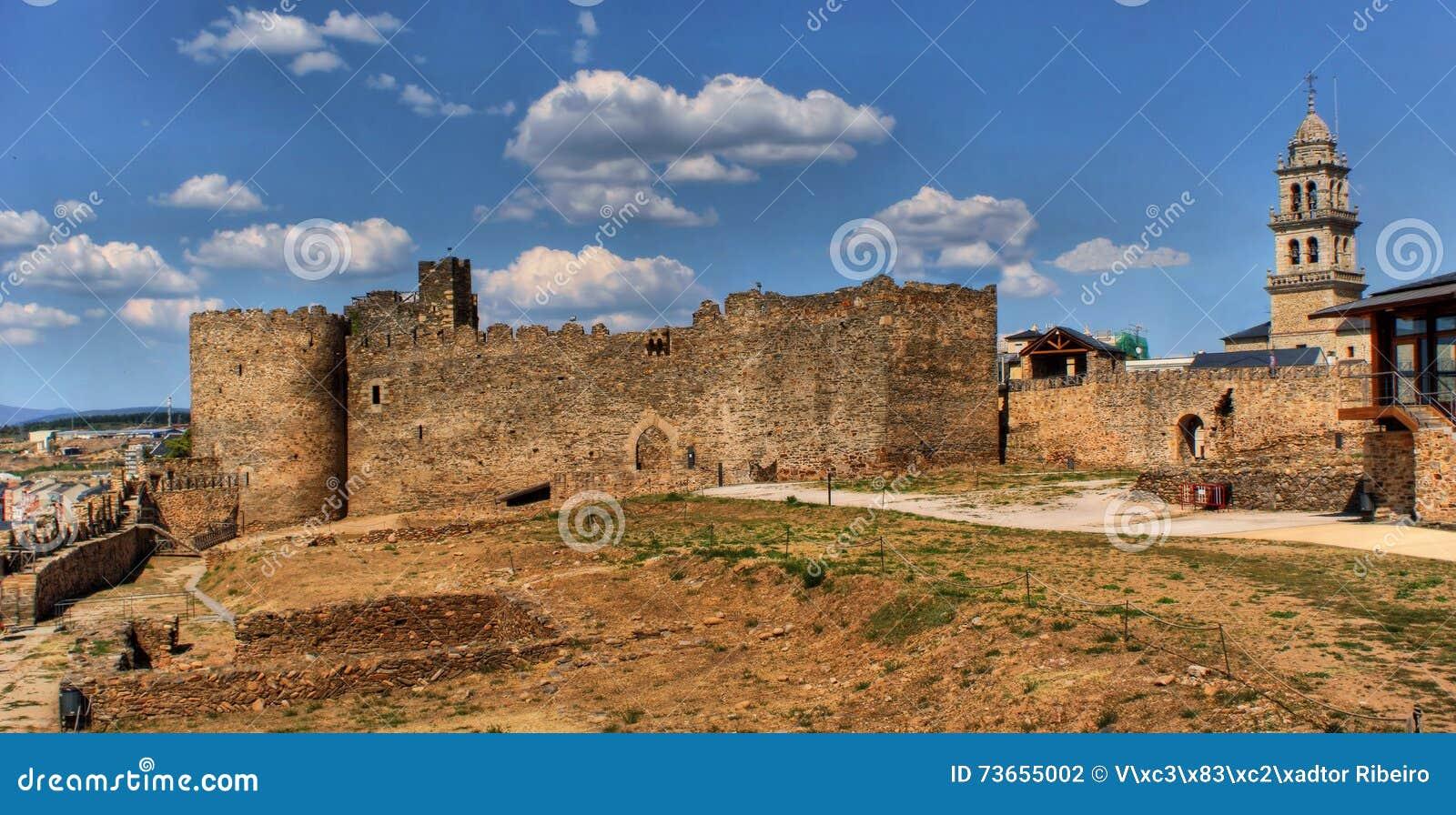 Slott templar ponferrada
