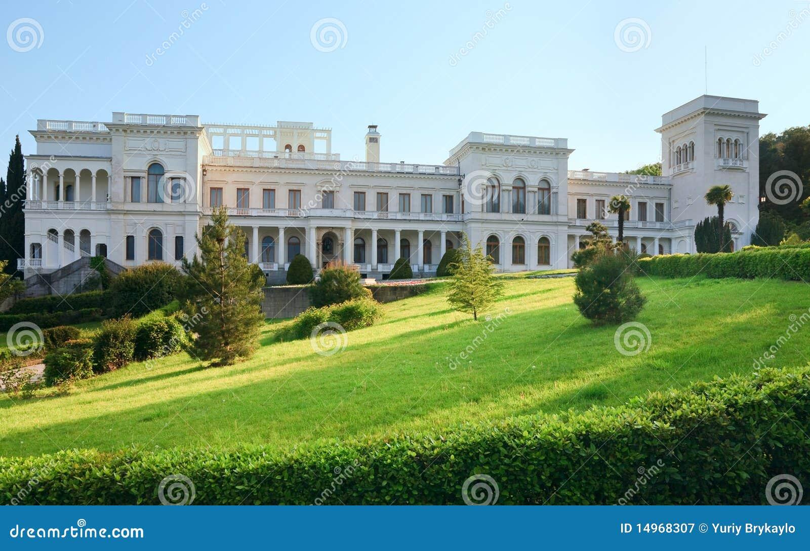 Slott ukraine för crimea livadialivadiya