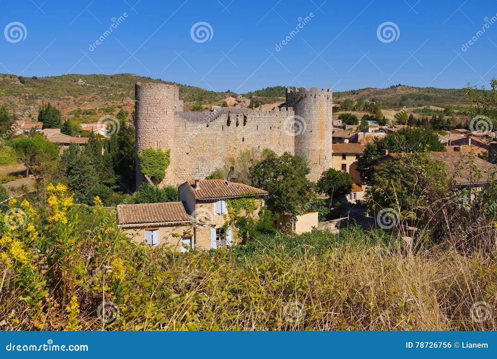 Slott Villerouge-Termenes i Frankrike