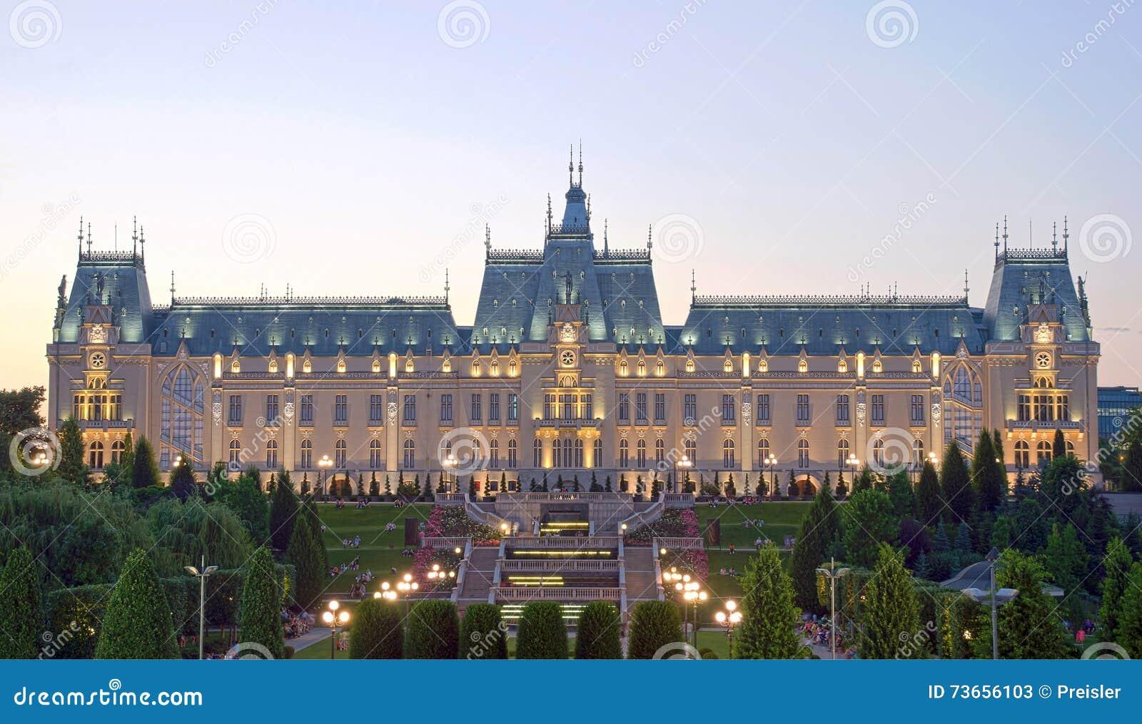 Slotten av kultur, Iasi, Rumänien