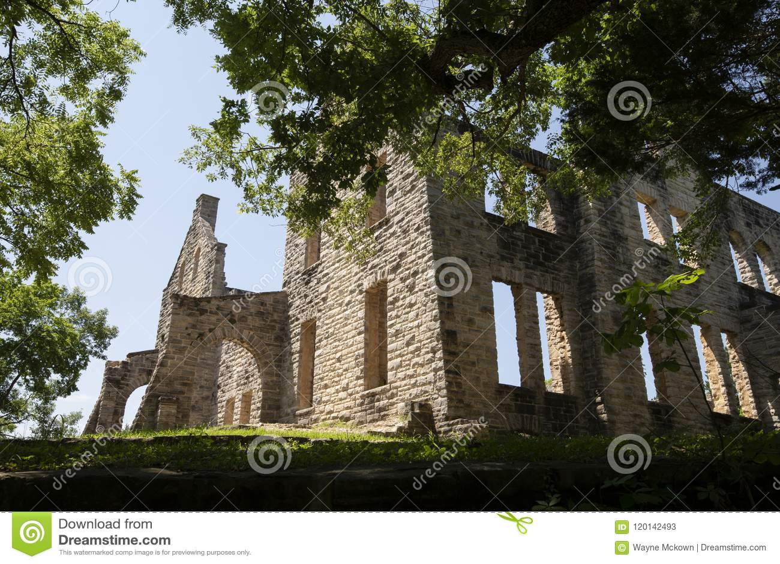 Slottet ha fördärvar tonka