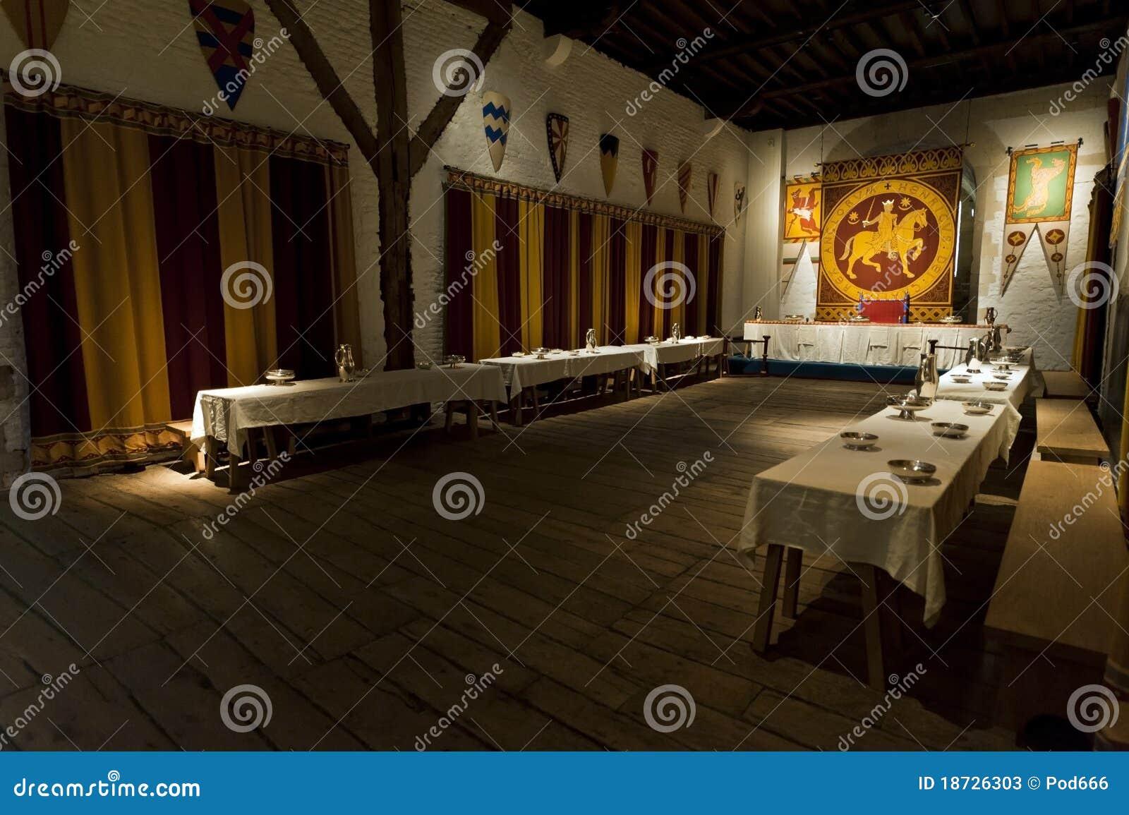 Slottet som äter middag dover, görar till kung lokal