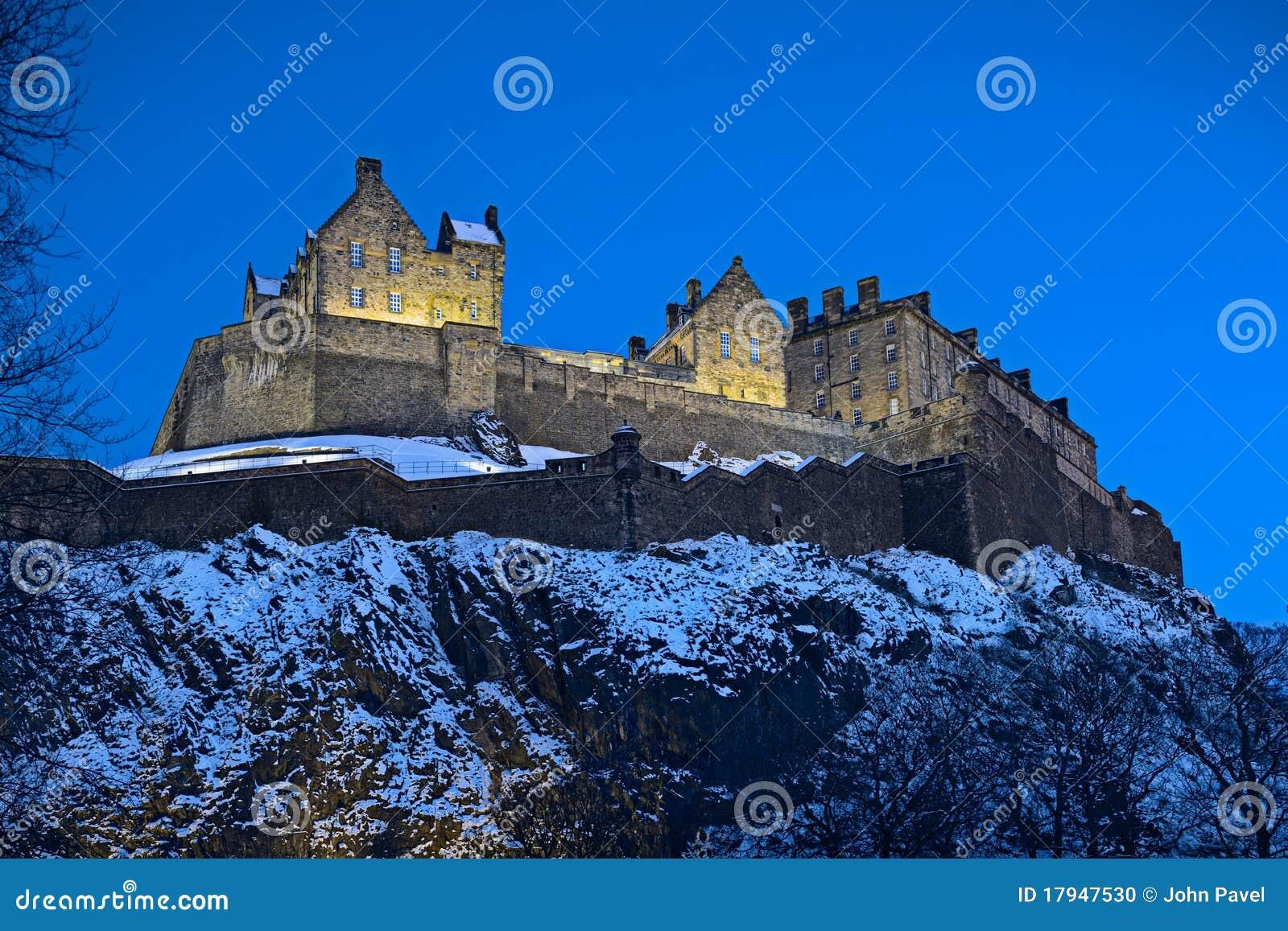 Slottskymning edinburgh scotland uk