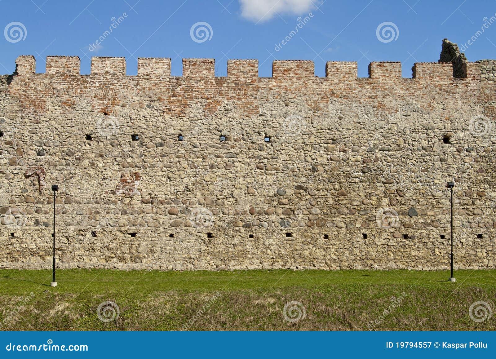 Slottvägg