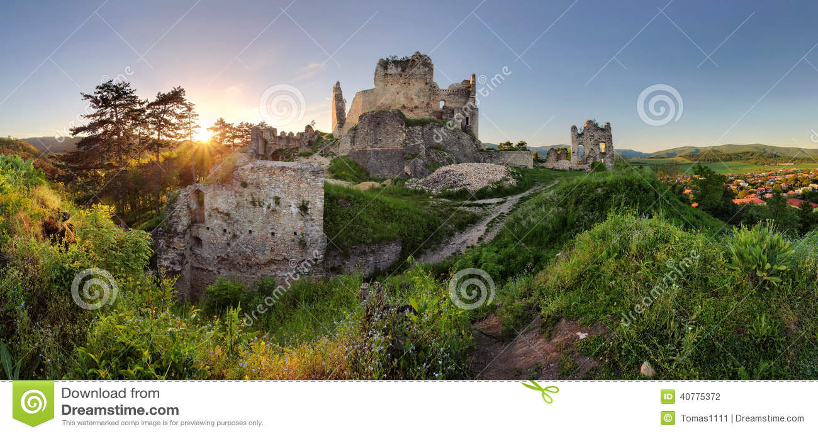 Slovakia castle - Divin