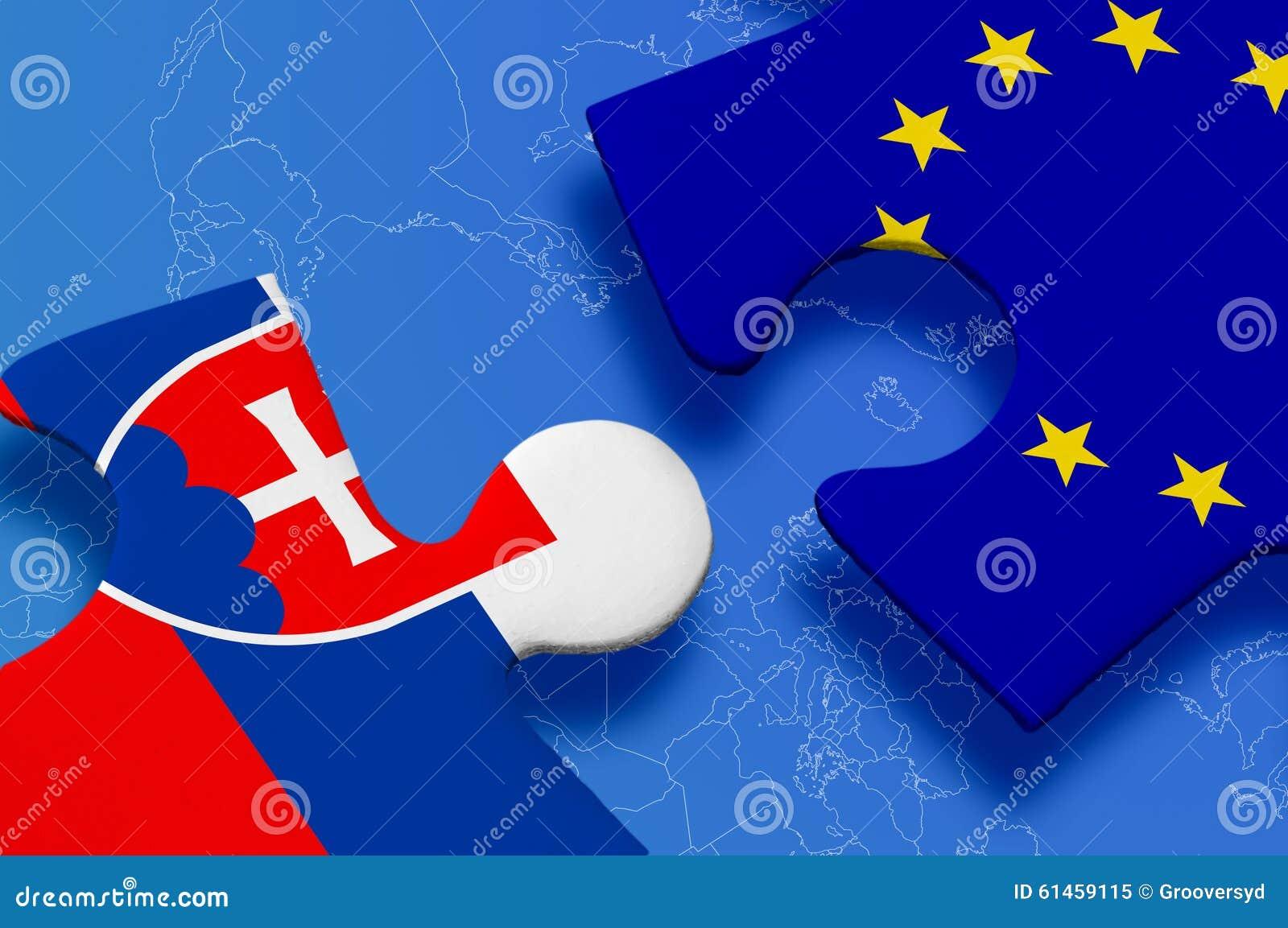 c3269a1a71 Slovakia European Union Puzzle Stock Illustration - Illustration of ...